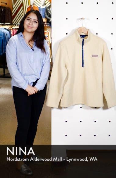 Fleece Quarter Zip Pullover, sales video thumbnail