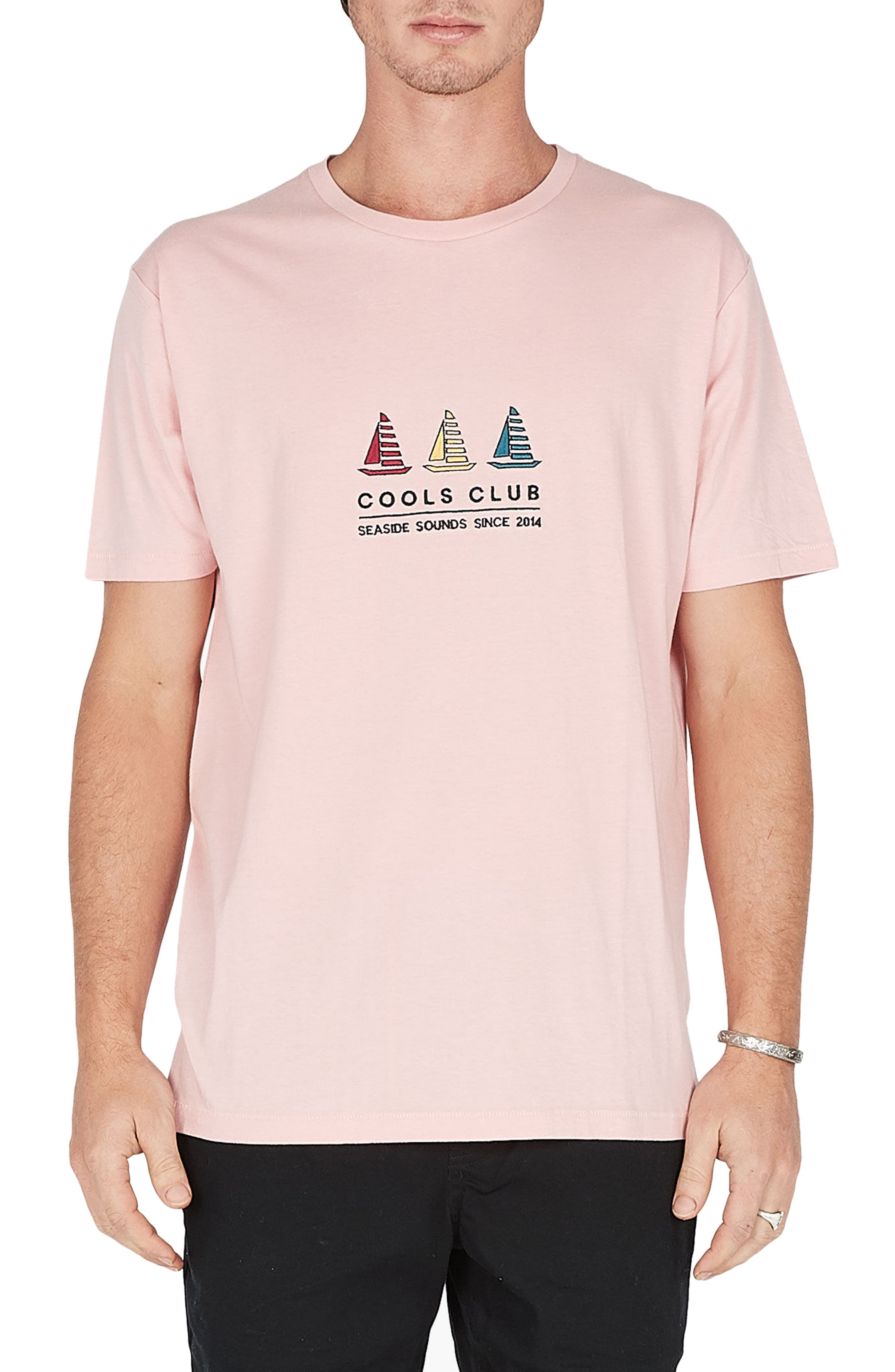 Embroidered Cools Club T-Shirt,                             Main thumbnail 1, color,                             680