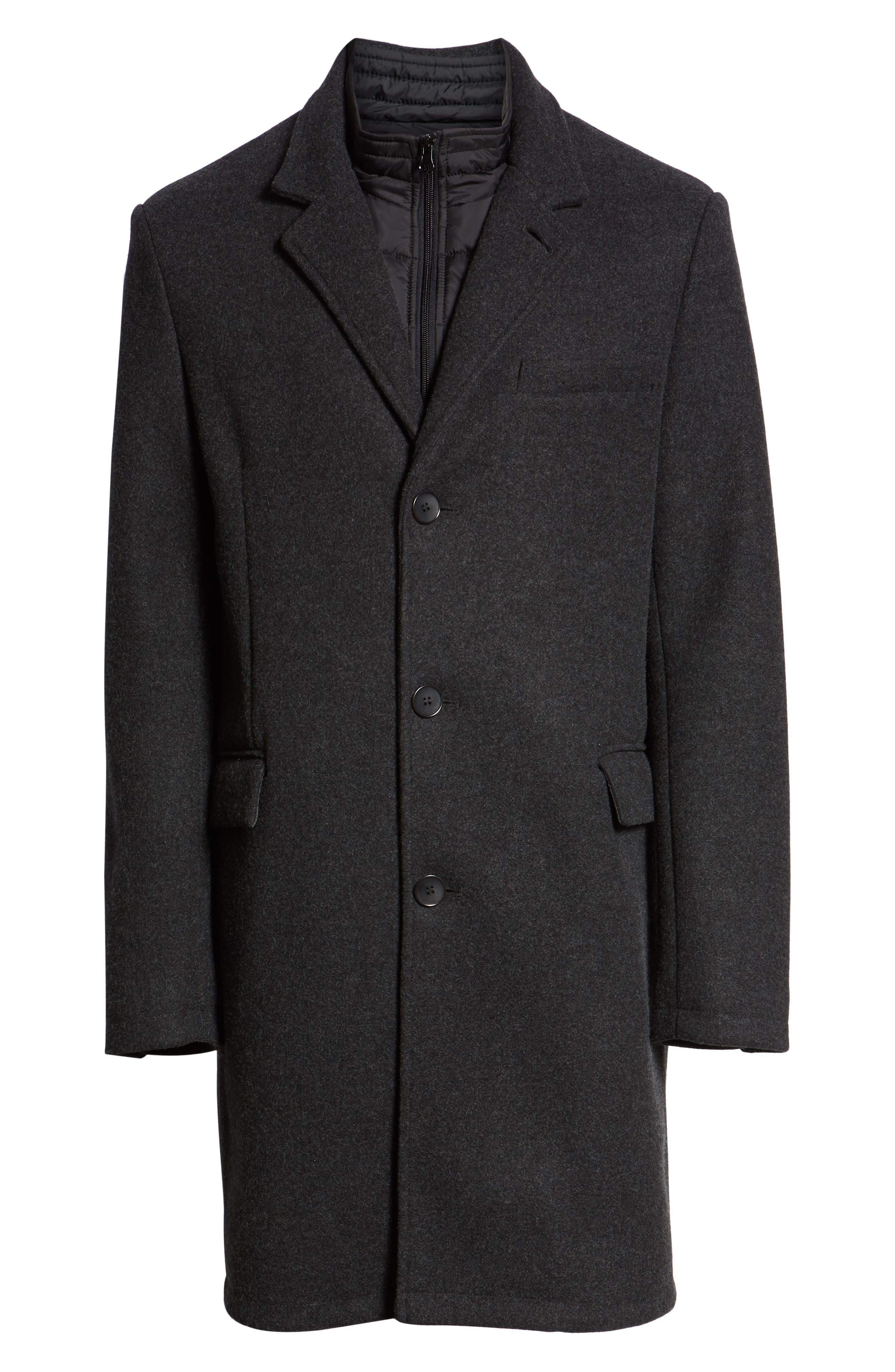 Westcott Wool Car Coat,                             Alternate thumbnail 6, color,                             001