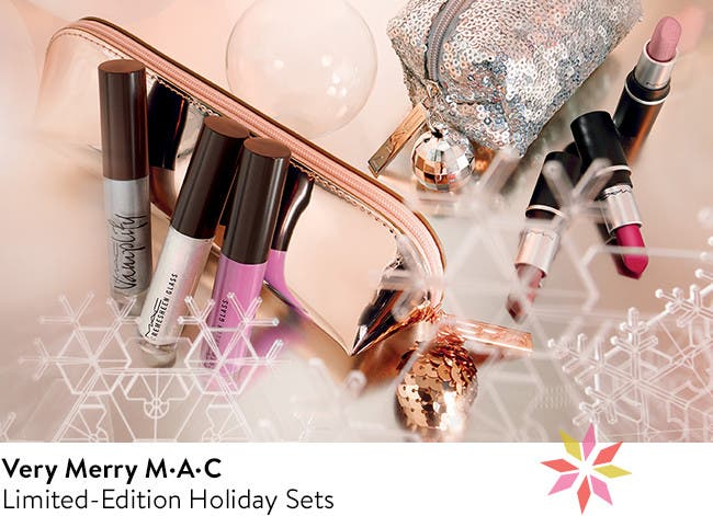 Very Merry M·A·C: Limited-Edition Holiday Sets