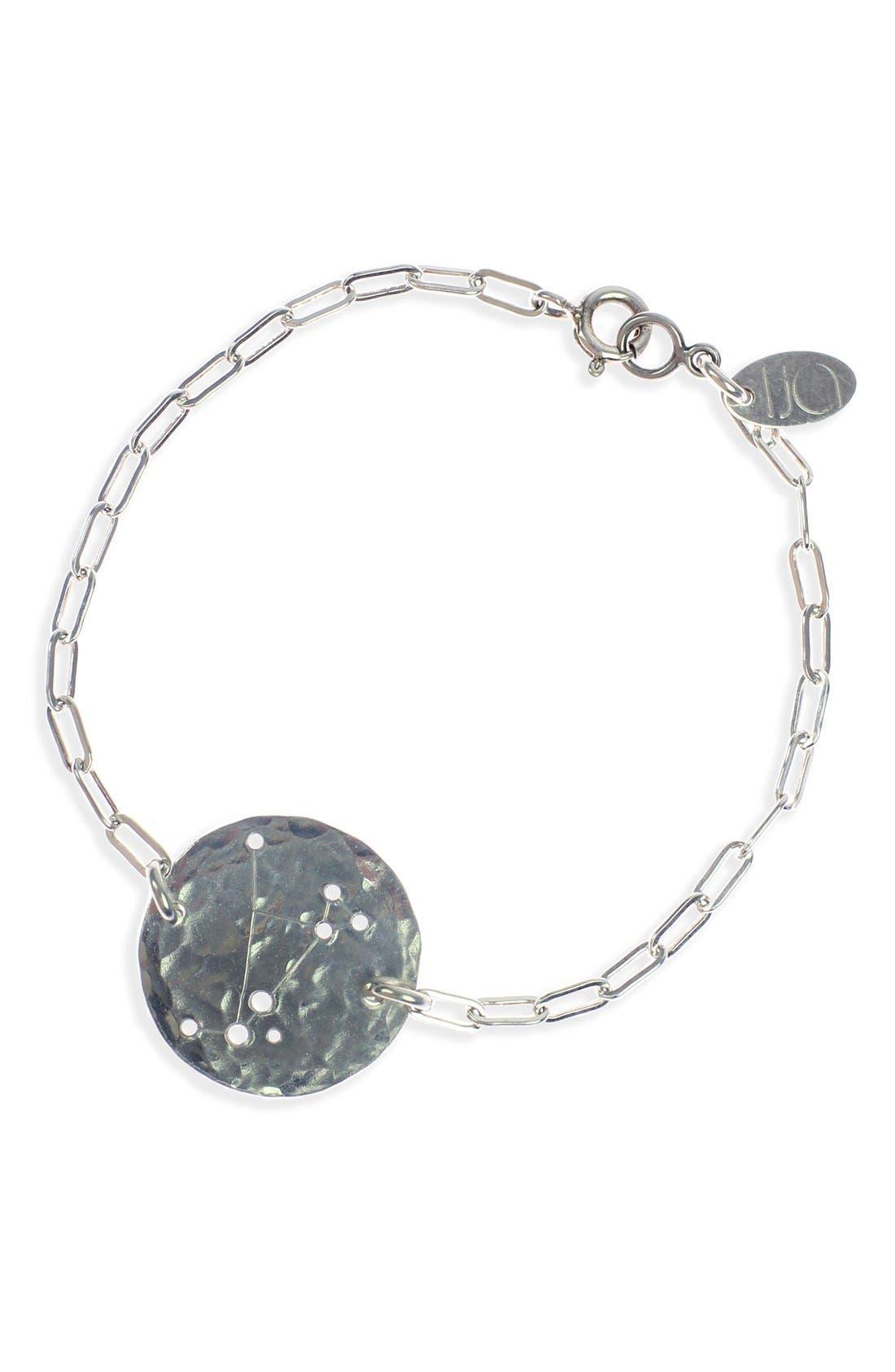 Ija 'Zodiac' Sterling Silver Chain Bracelet,                             Main thumbnail 1, color,                             040