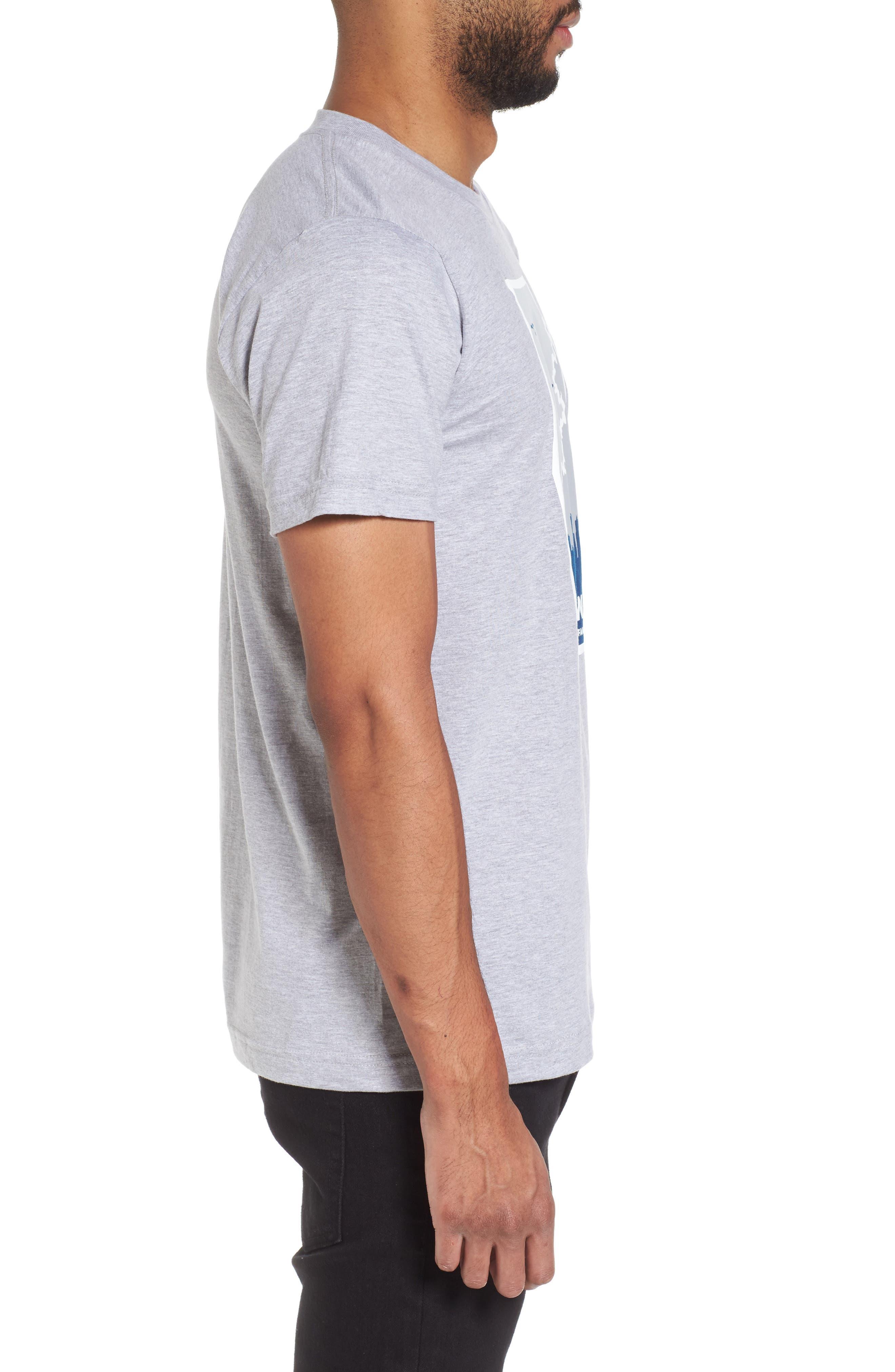 Foul Weather Fans T-Shirt,                             Alternate thumbnail 3, color,                             020