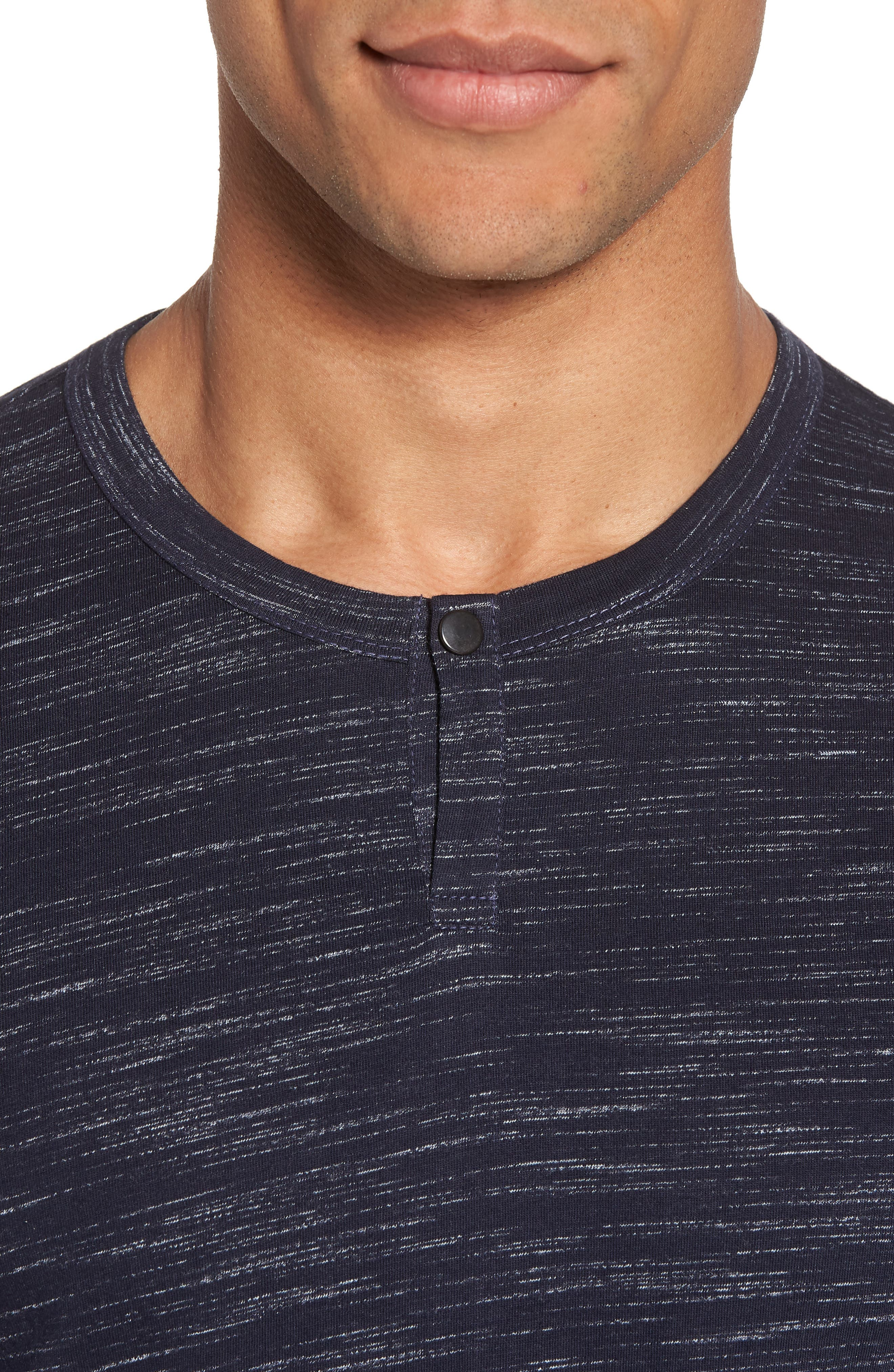 Space Dyed One-Button Henley T-Shirt,                             Alternate thumbnail 19, color,