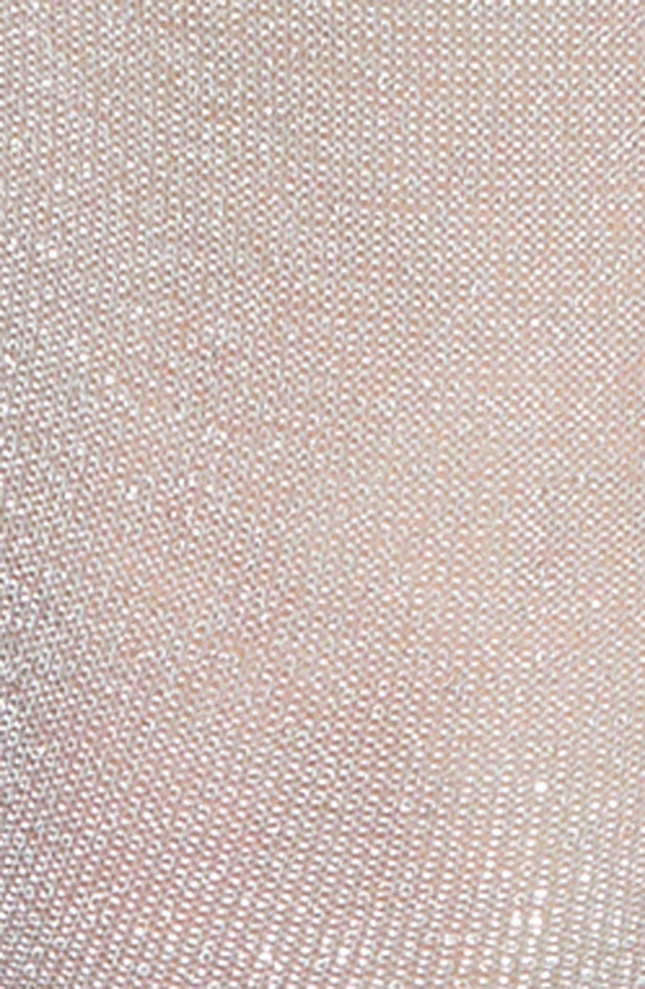 x Atlantic-Pacific Shimmer Ankle Socks,                             Alternate thumbnail 3, color,                             BLUE LUSTER