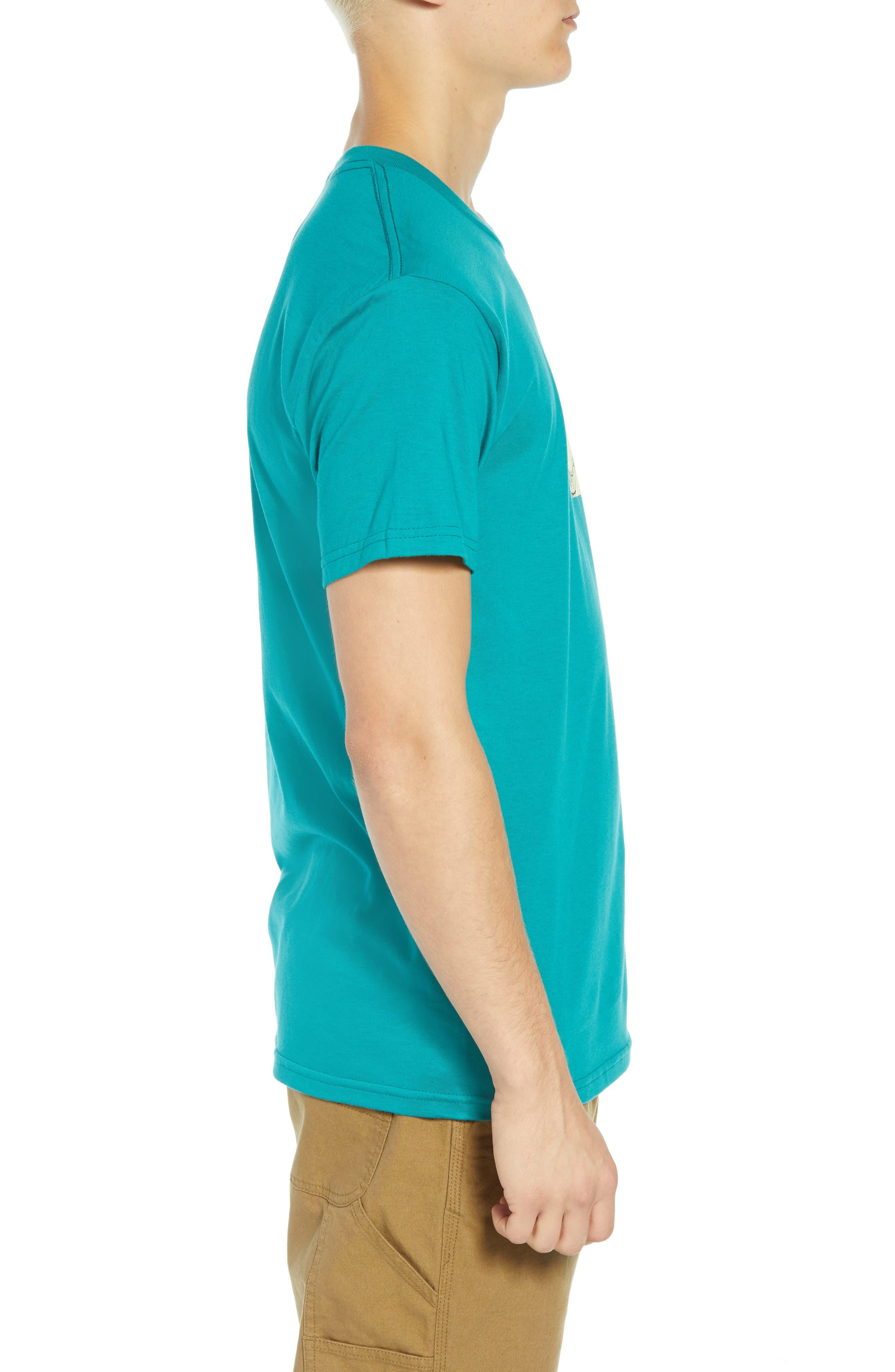 Metamorphosis Premium T-Shirt,                             Alternate thumbnail 3, color,                             TEAL