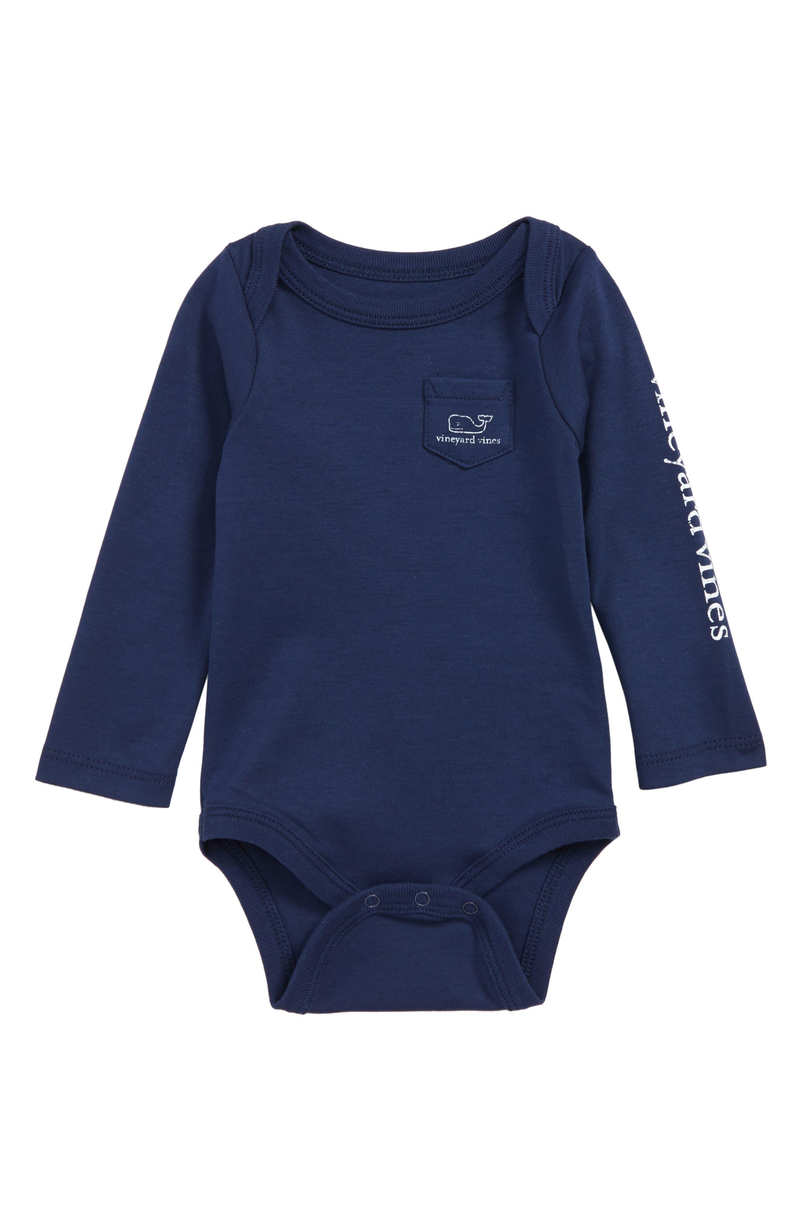 Long Sleeve Bodysuit, Main, color, DEEP BAY