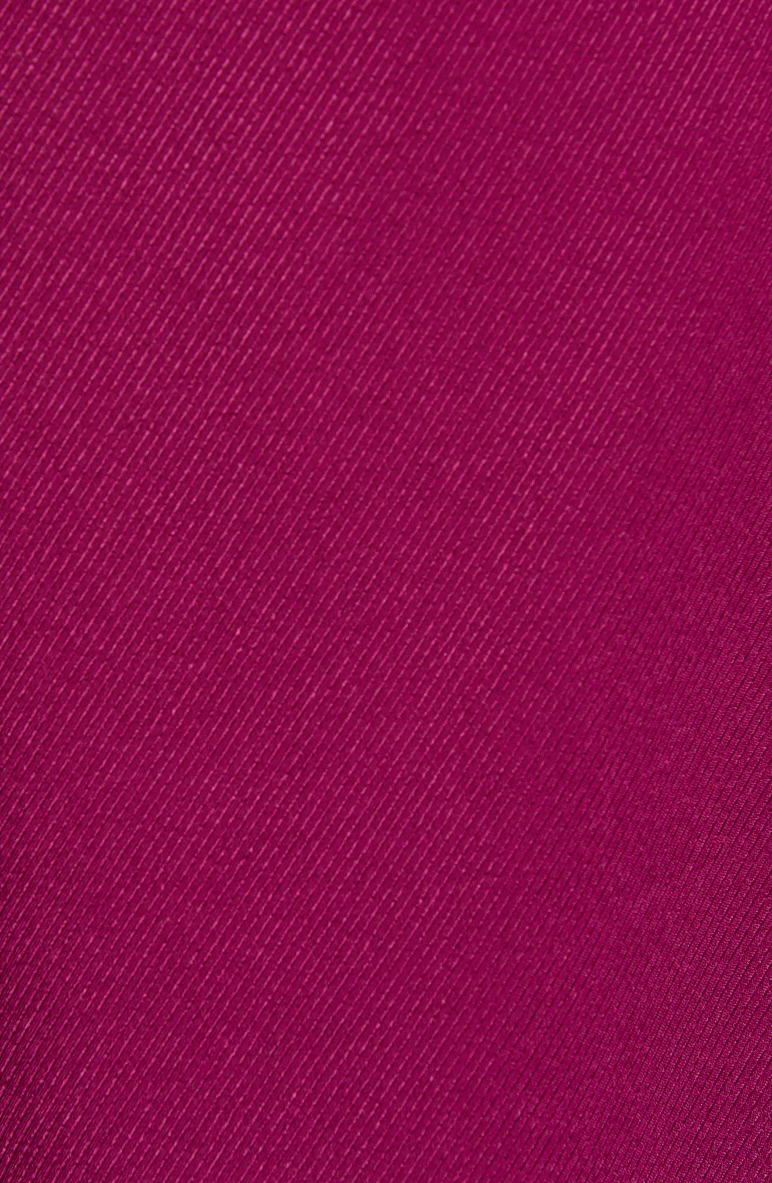 Chriselle Lim Wren Trench Dress,                             Alternate thumbnail 6, color,                             MAGENTA