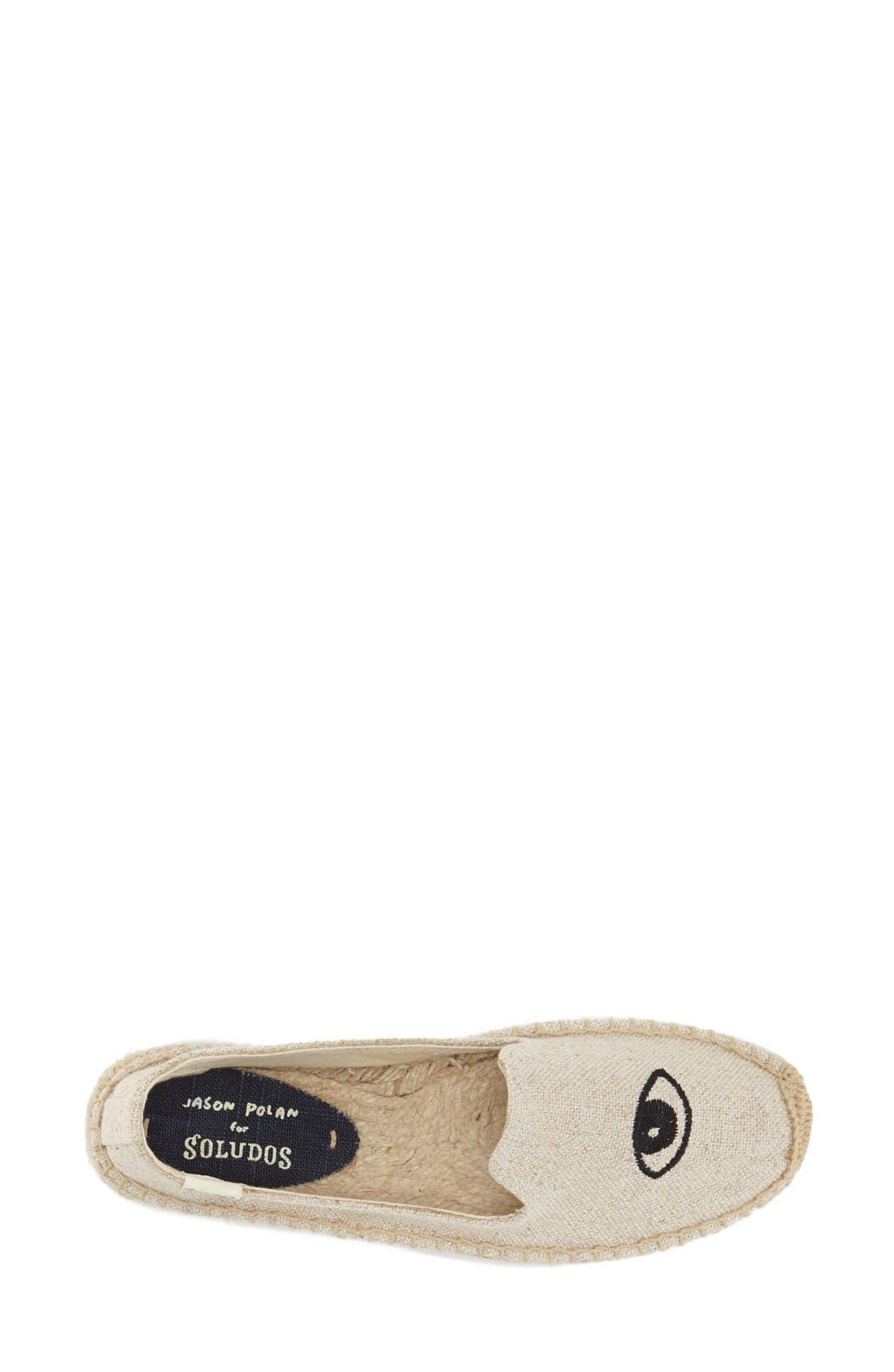 Jason Polan Espadrille Sandal,                             Alternate thumbnail 2, color,                             WINK SAND