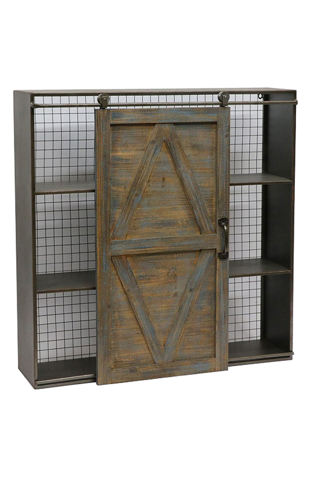 Sliding Door Bookshelf,                         Main,                         color, 200