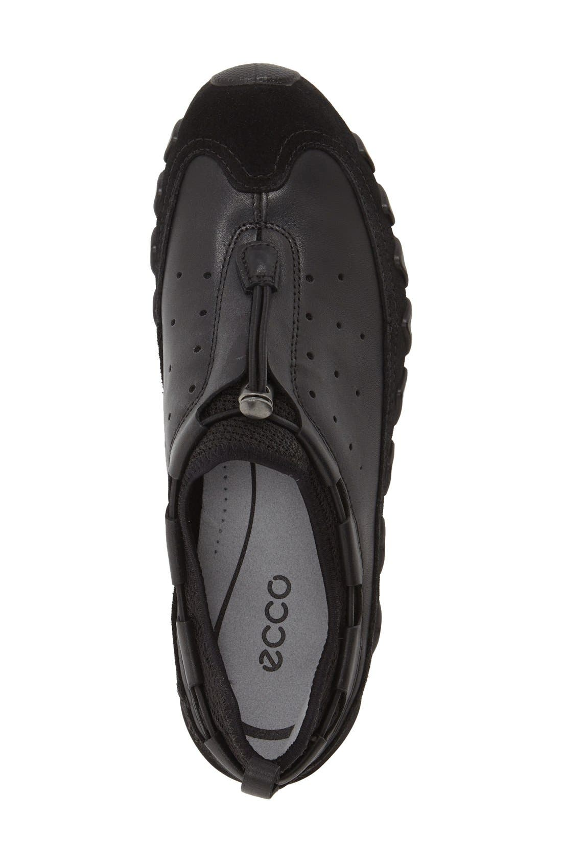 ECCO,                             'Dayla' Toggle Sneaker,                             Alternate thumbnail 3, color,                             001
