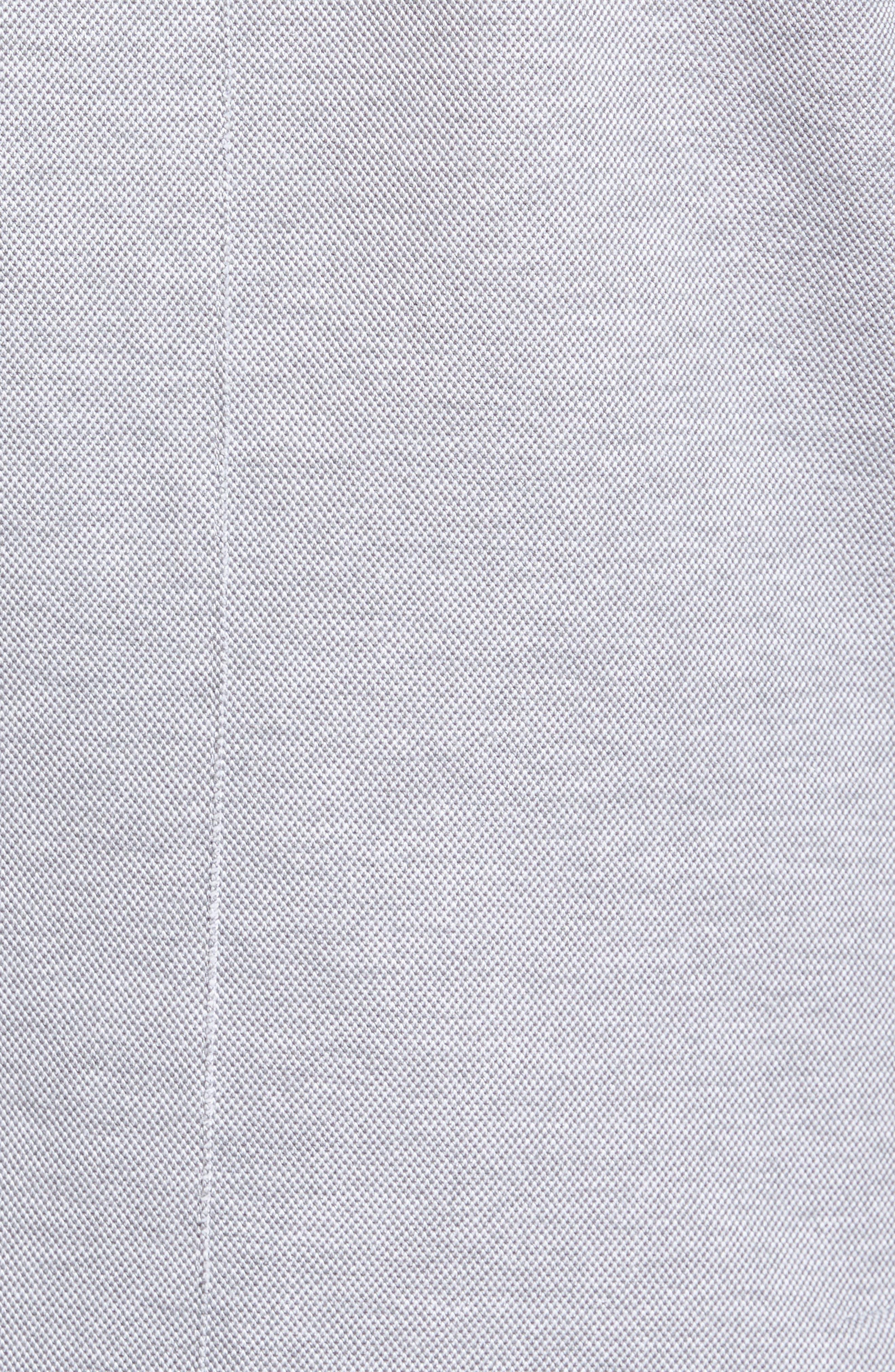 Trim Fit Jersey Blazer,                             Alternate thumbnail 6, color,                             GREY
