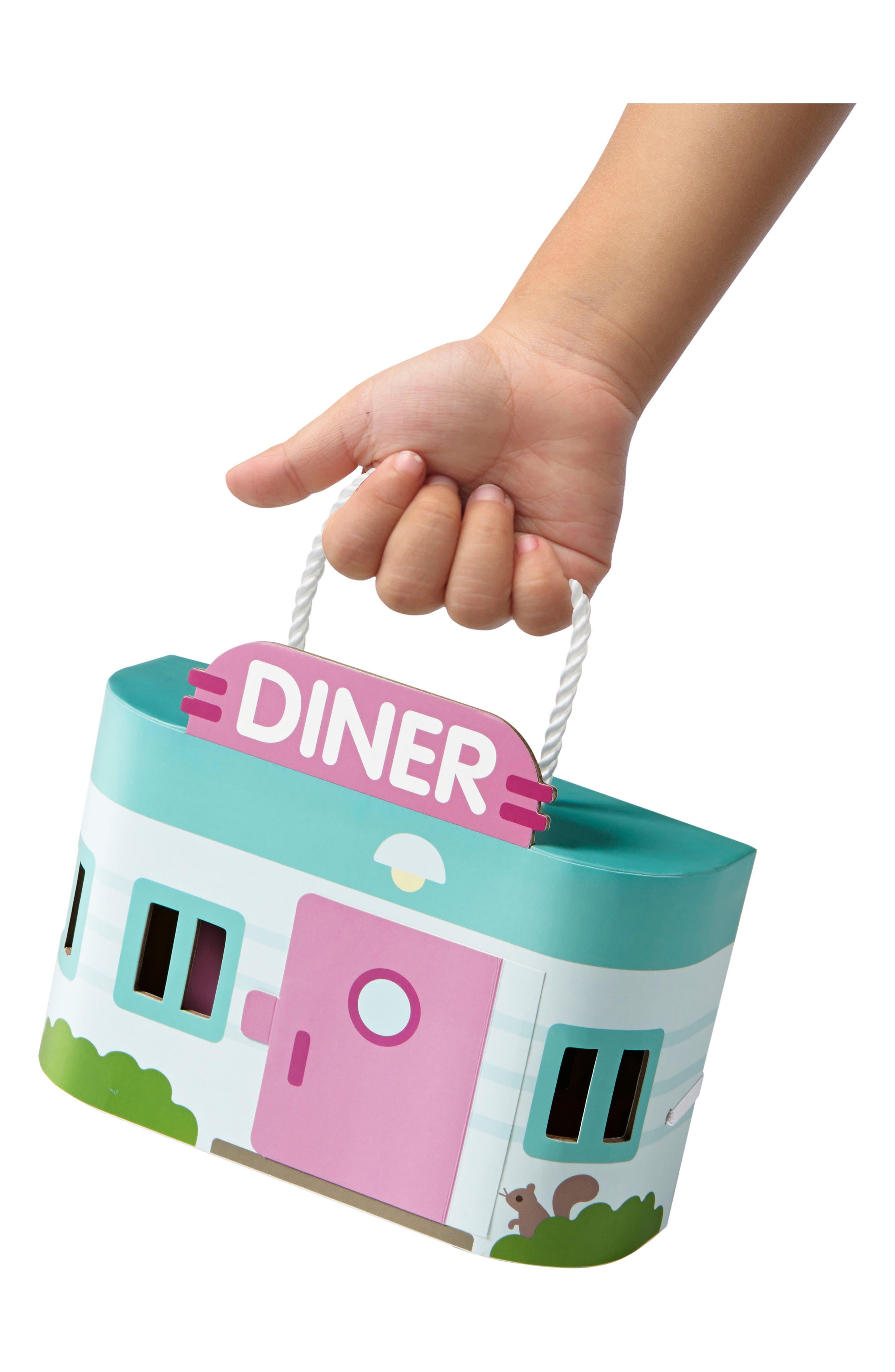 Jack's Diner Portable Play Set,                             Alternate thumbnail 2, color,                             MULTI
