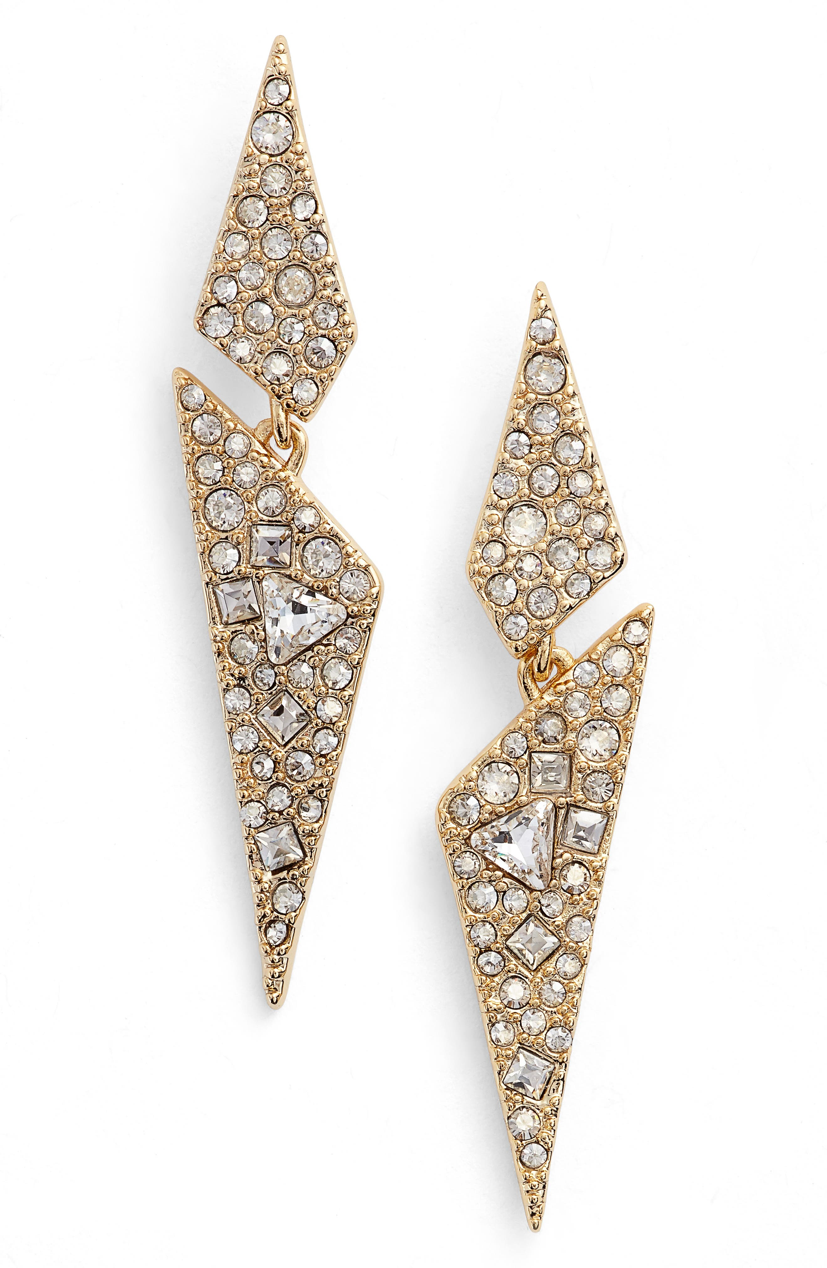 Crystal Encrusted Dangling Drop Earrings,                             Main thumbnail 1, color,                             710