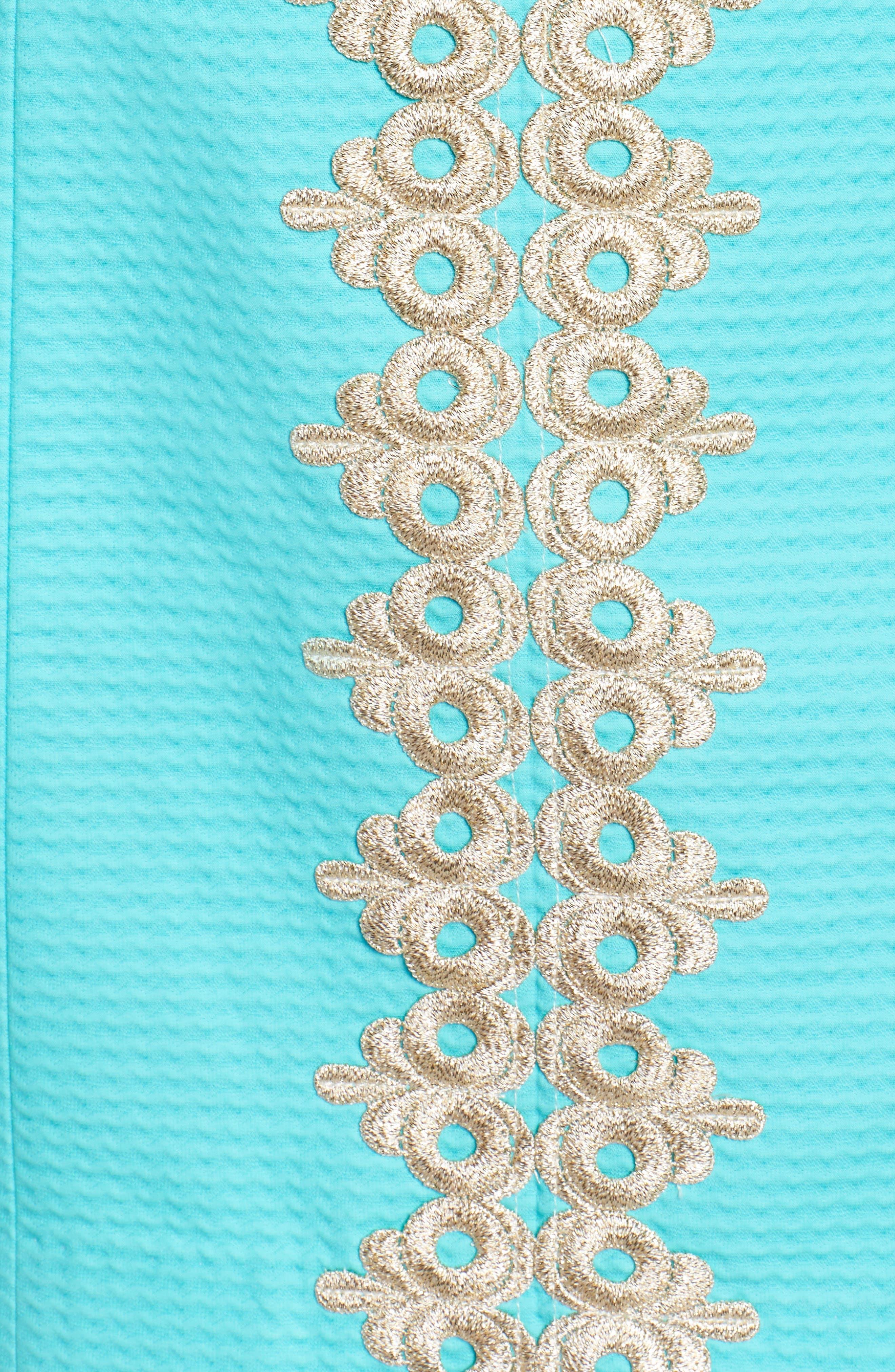 Pearl Sheath Dress,                             Alternate thumbnail 5, color,                             436