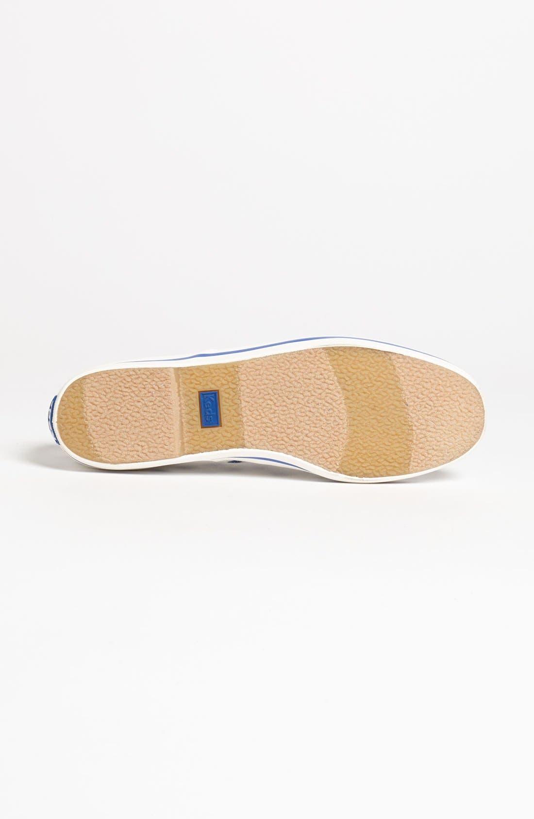 Keds<sup>®</sup> for kate spade new york 'kick' sneaker,                             Alternate thumbnail 9, color,