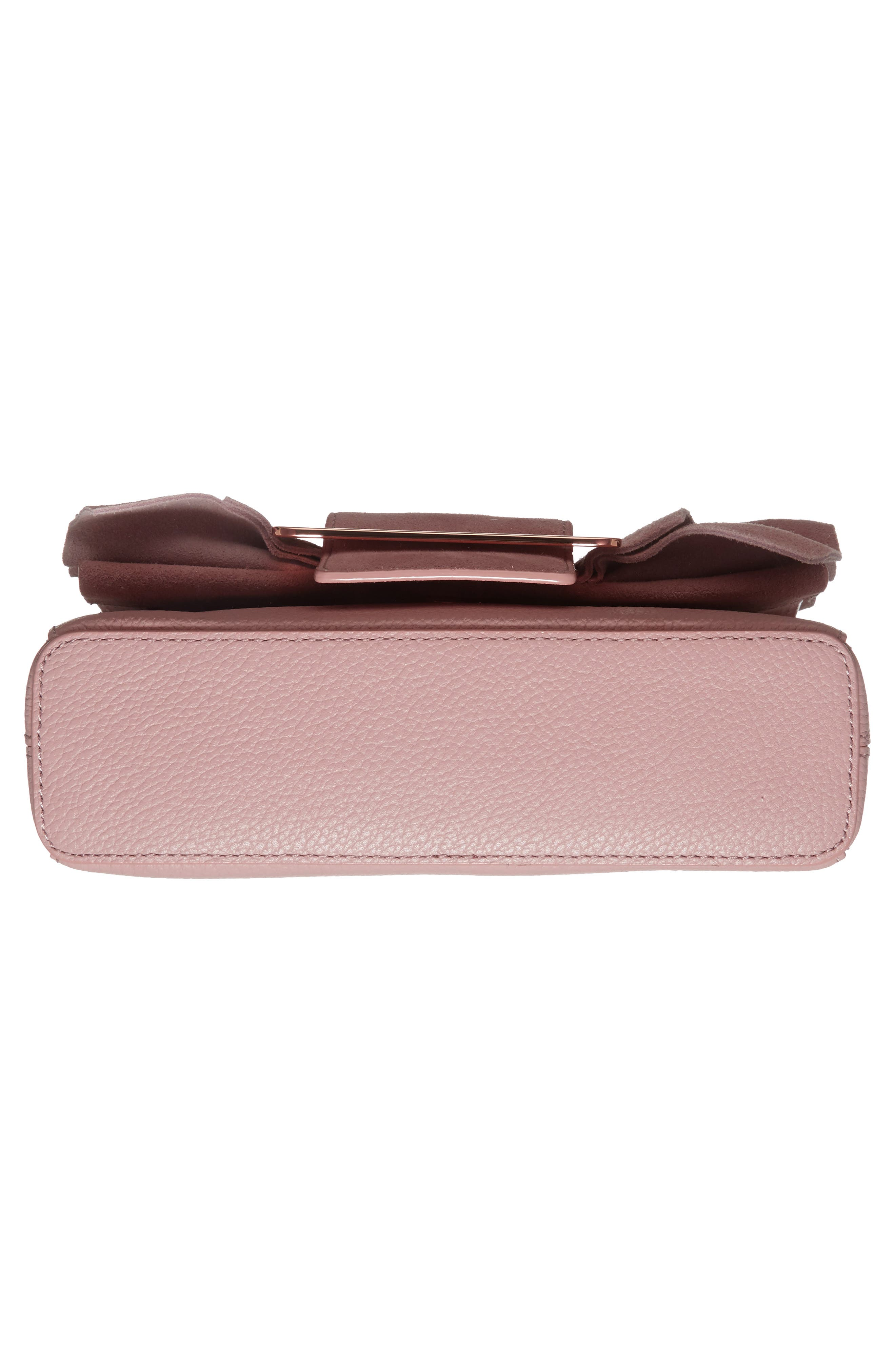Nerinee Bow Buckle Clutch,                             Alternate thumbnail 18, color,
