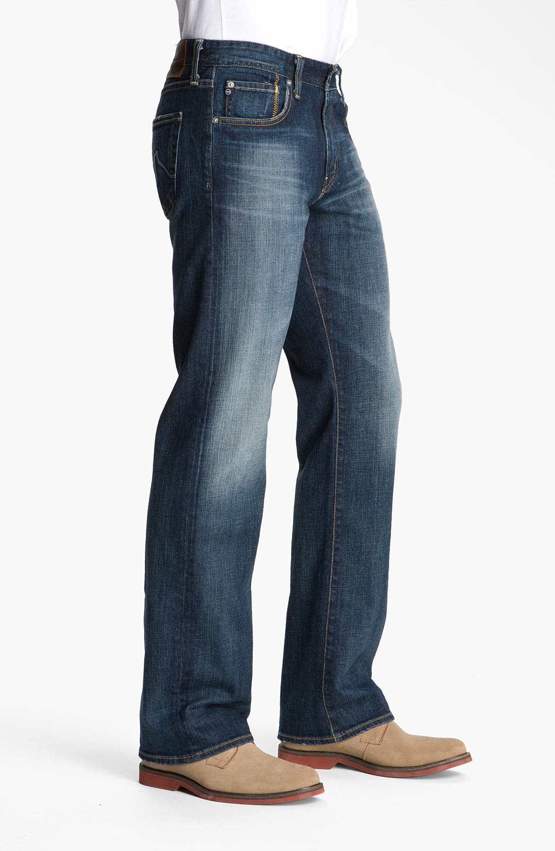 AG,                             Jeans 'Hero' Relaxed Fit Jeans,                             Alternate thumbnail 3, color,                             420