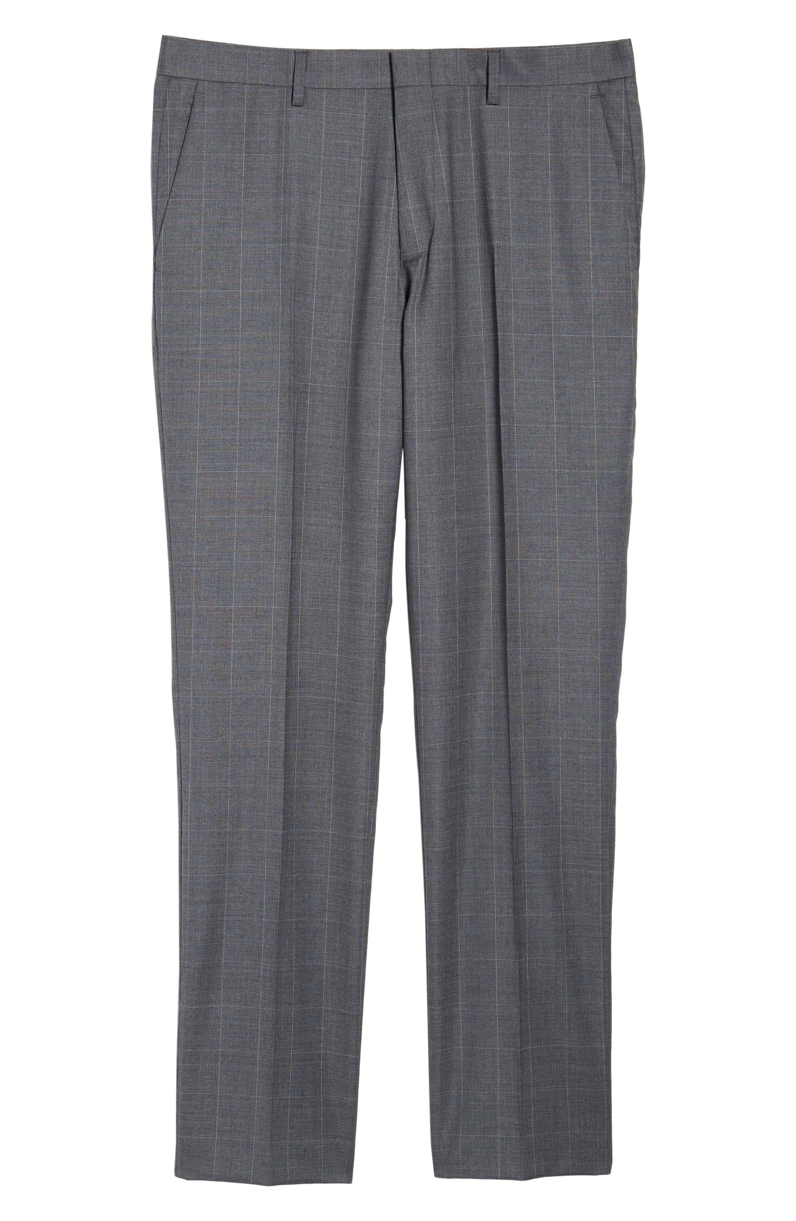 Ludlow Wool Blend Pants,                             Alternate thumbnail 6, color,