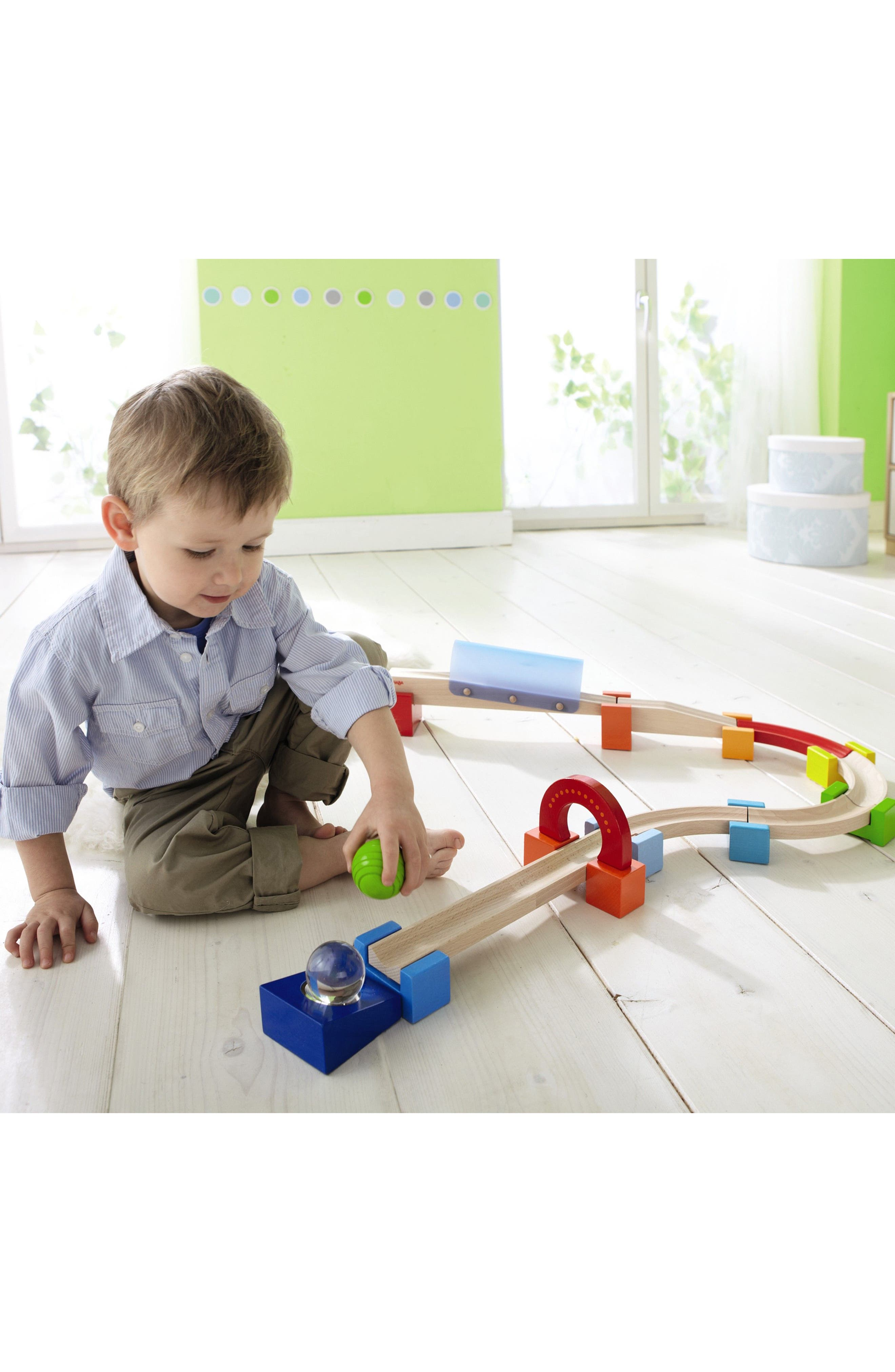 My First Ball Track - 19-Piece Large Basic Pack Mirror Marvel Play Set,                             Alternate thumbnail 2, color,                             200