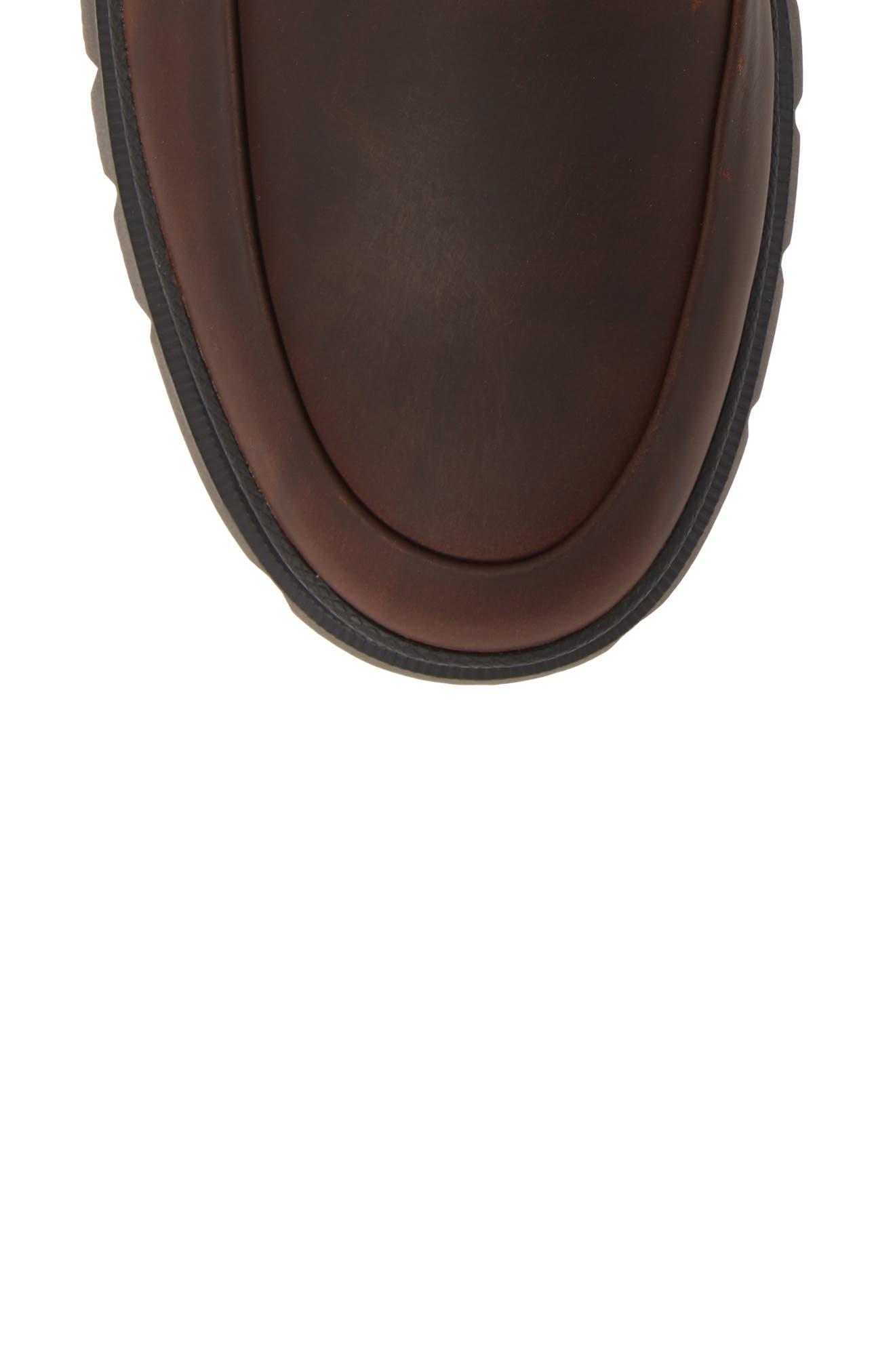 SPERRY,                             Watertown Waterproof Moc Toe Boot,                             Alternate thumbnail 5, color,                             BROWN