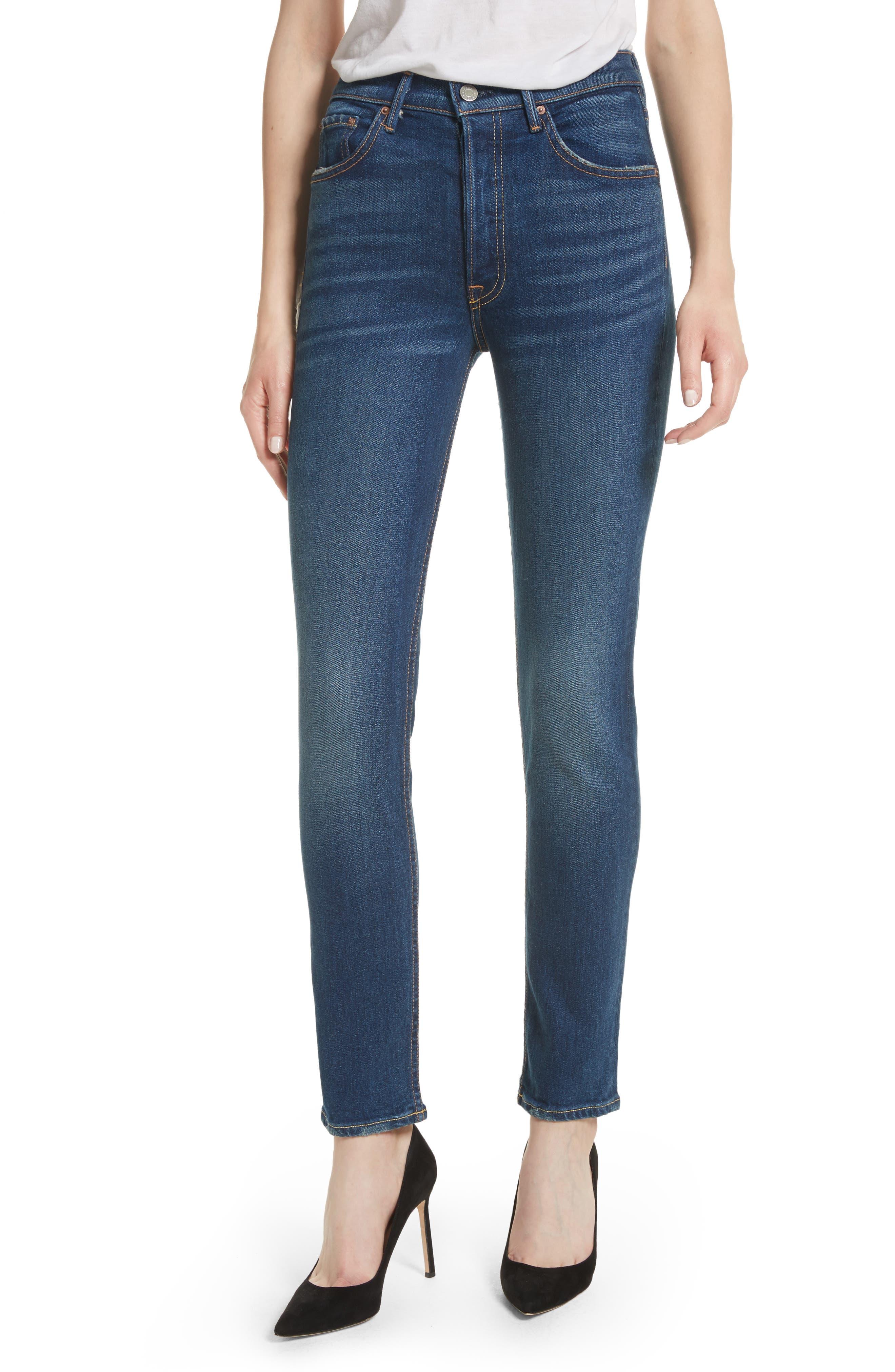Karolina High Waist Skinny Jeans,                         Main,                         color, JOAN JETT