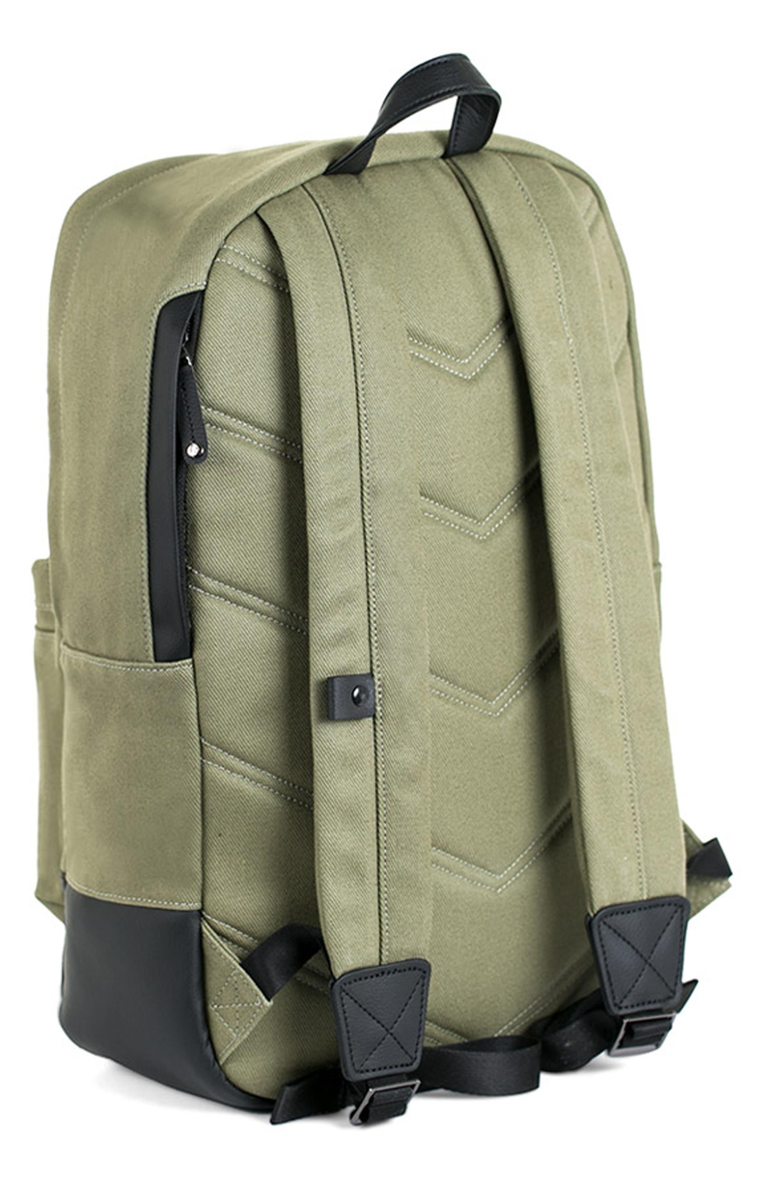 Refined Backpack,                             Alternate thumbnail 4, color,                             OLIVE