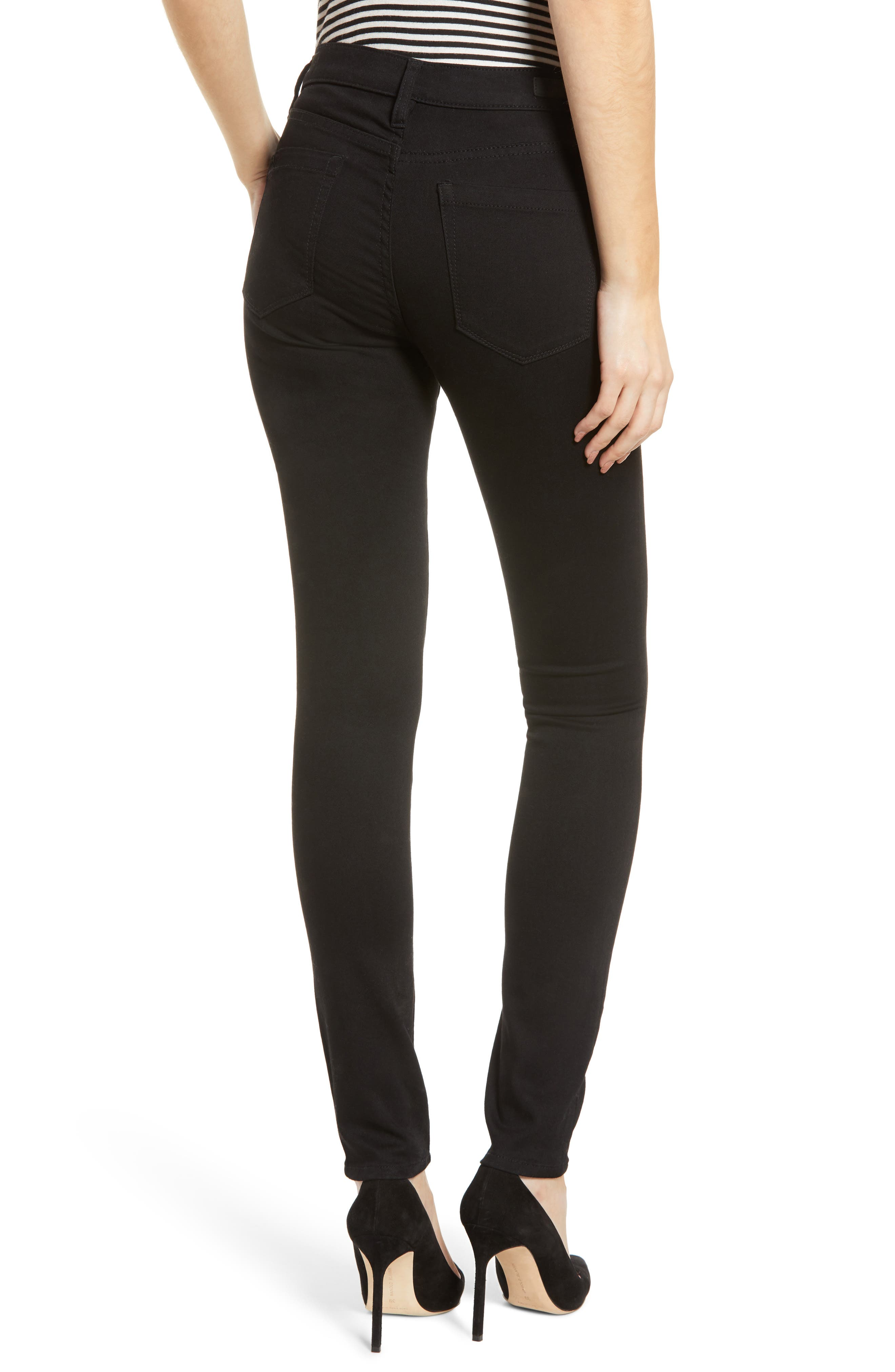 The Great Jones High Waist Skinny Jeans,                             Alternate thumbnail 2, color,                             GOTHAM