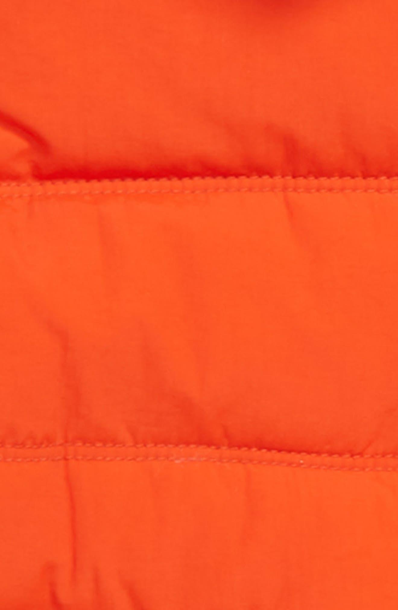 Padded Hooded Jacket,                             Alternate thumbnail 2, color,                             ROCKET RED