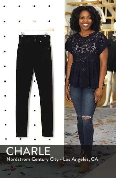 Chrissy High Waist Skinny Jeans, sales video thumbnail