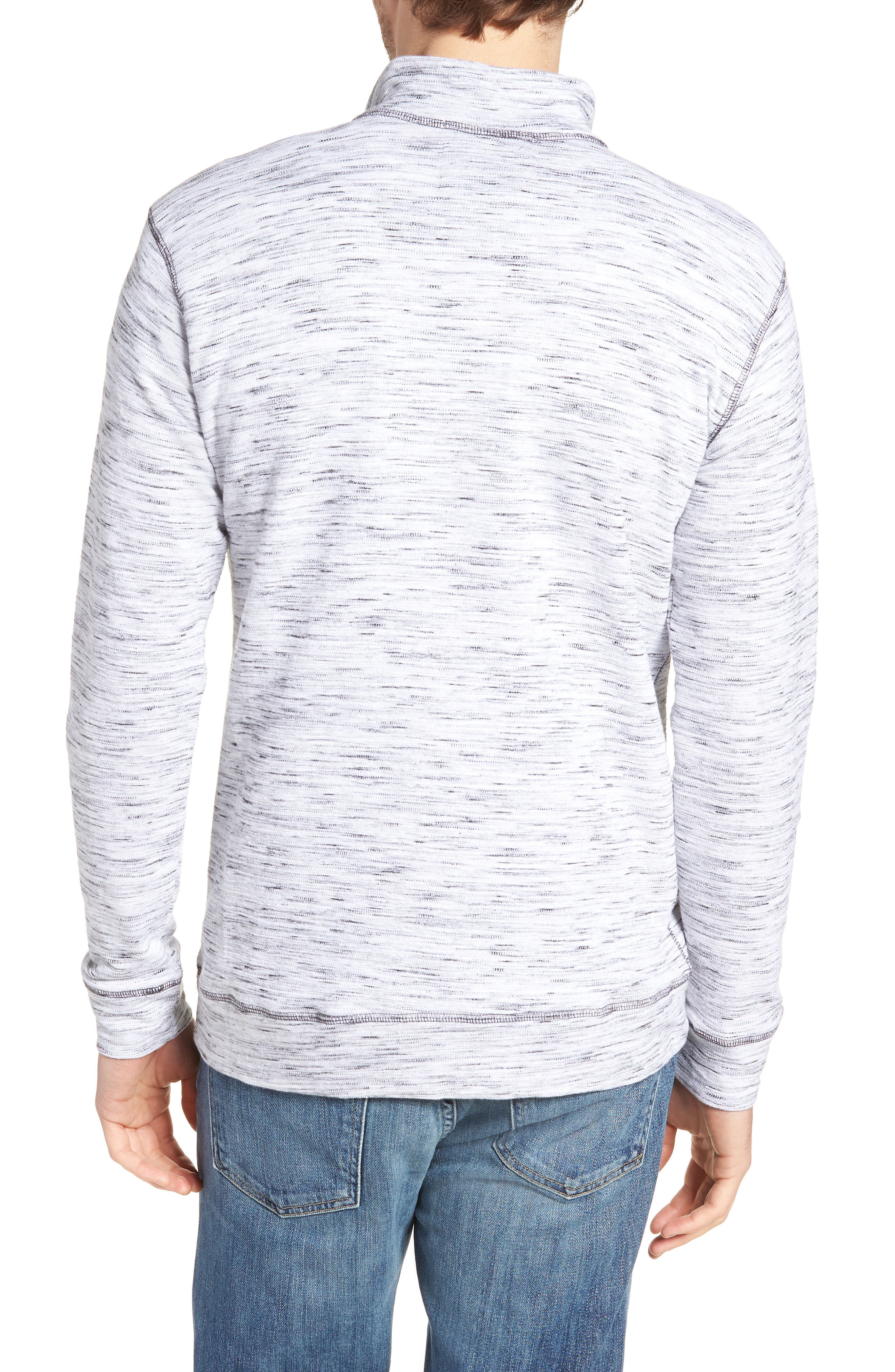 Regular Fit Jacquard Quarter Zip Shirt,                             Alternate thumbnail 2, color,                             270