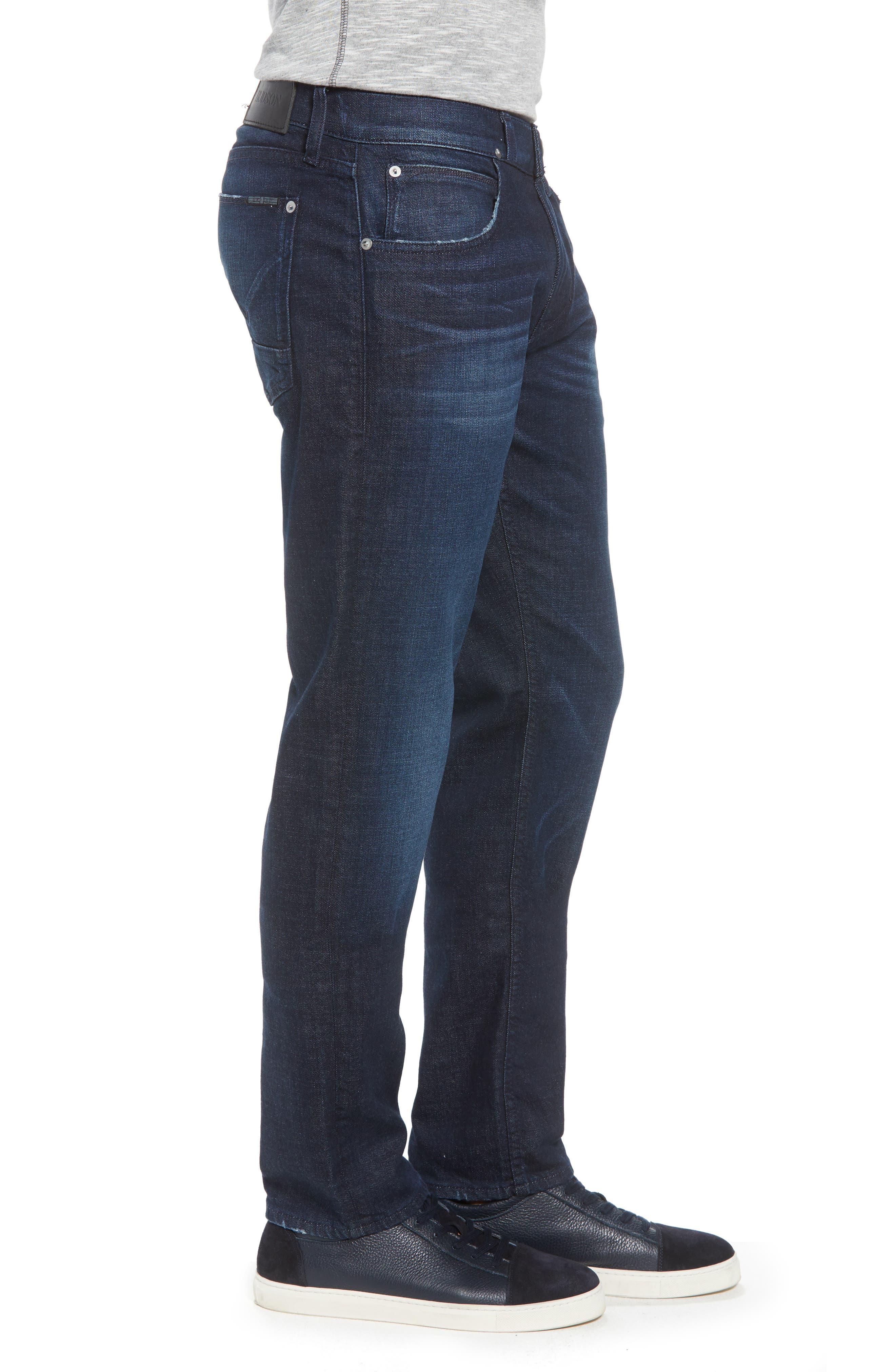 Blake Slim Fit Jeans,                             Alternate thumbnail 3, color,                             BARRY