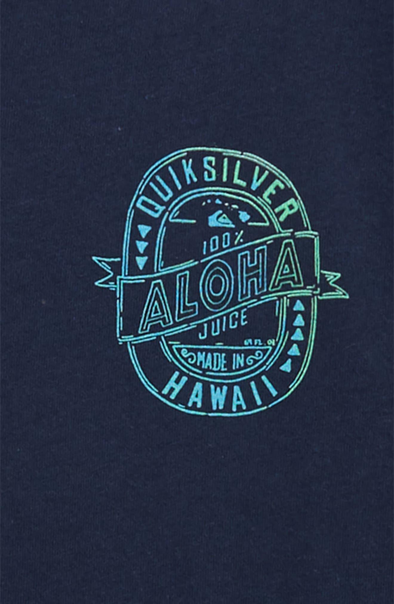 Hawaii Juice Graphic T-Shirt,                             Alternate thumbnail 3, color,                             410
