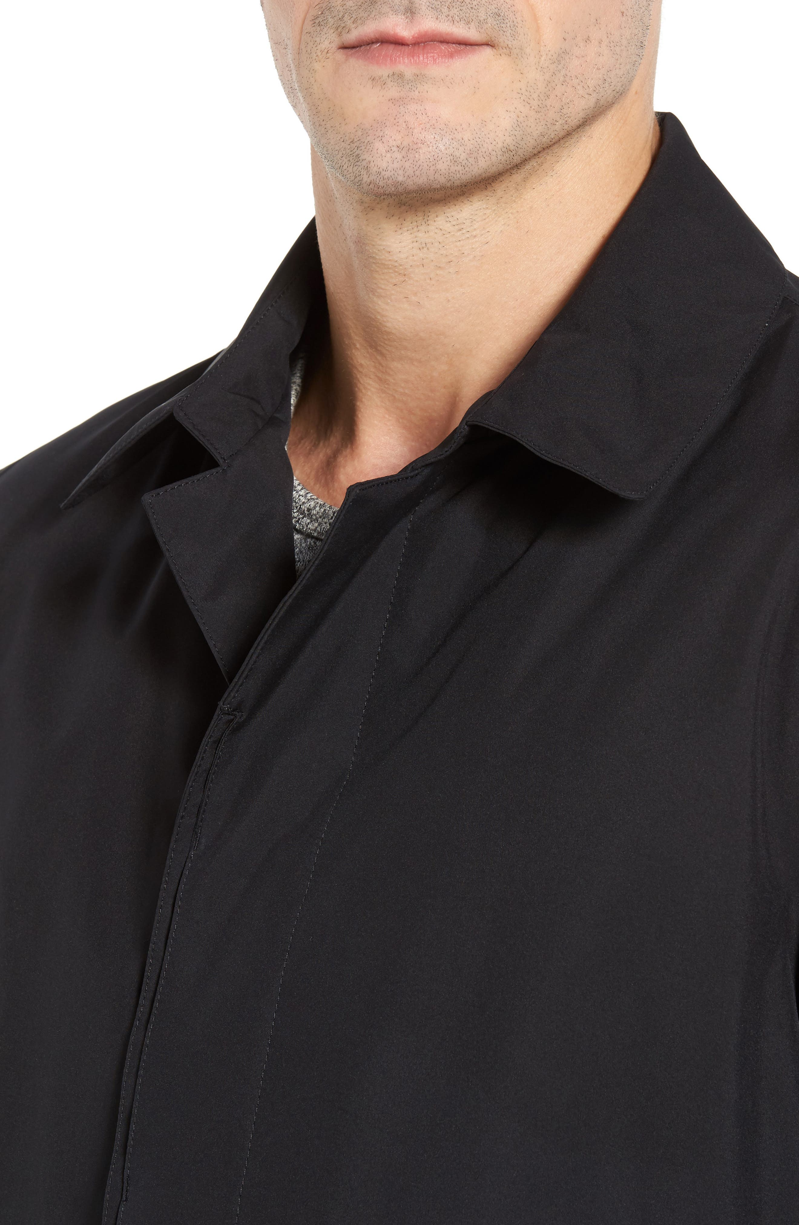 HERNO,                             Gore-Tex<sup>®</sup> 3-Layer Jacket,                             Alternate thumbnail 4, color,                             001