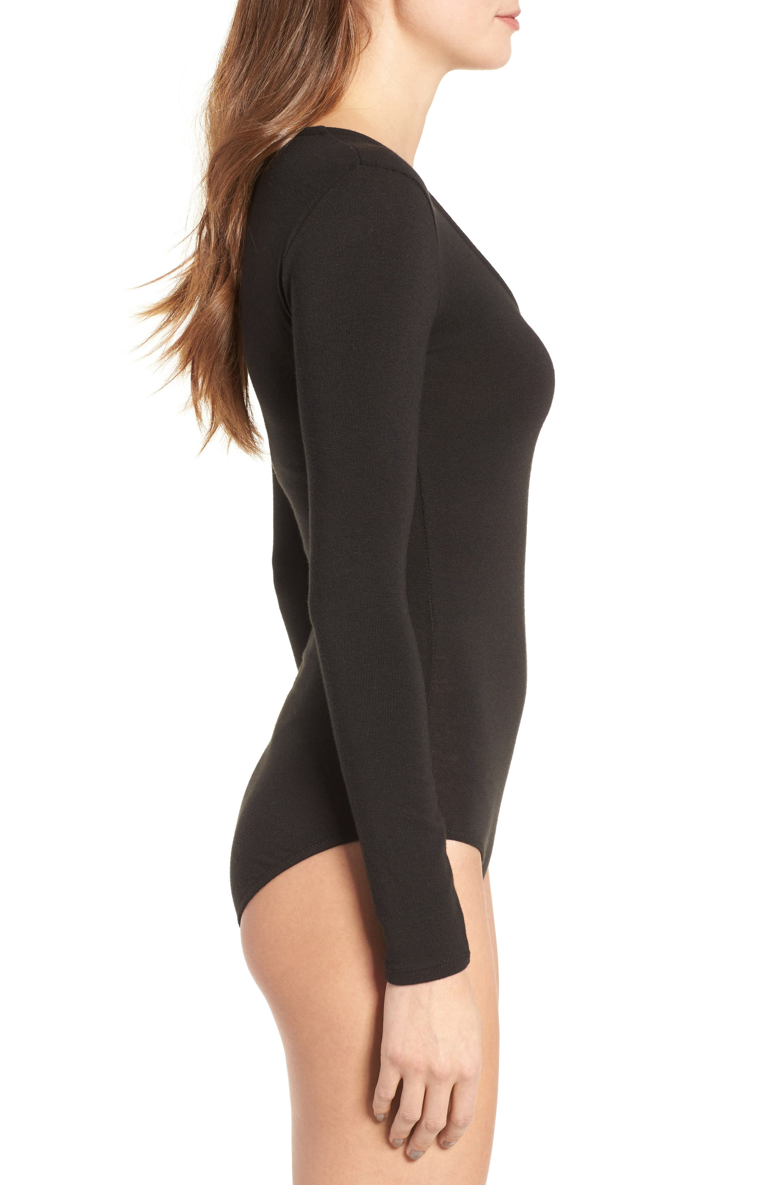 Song Stretch Jersey Bodysuit,                             Alternate thumbnail 3, color,                             001