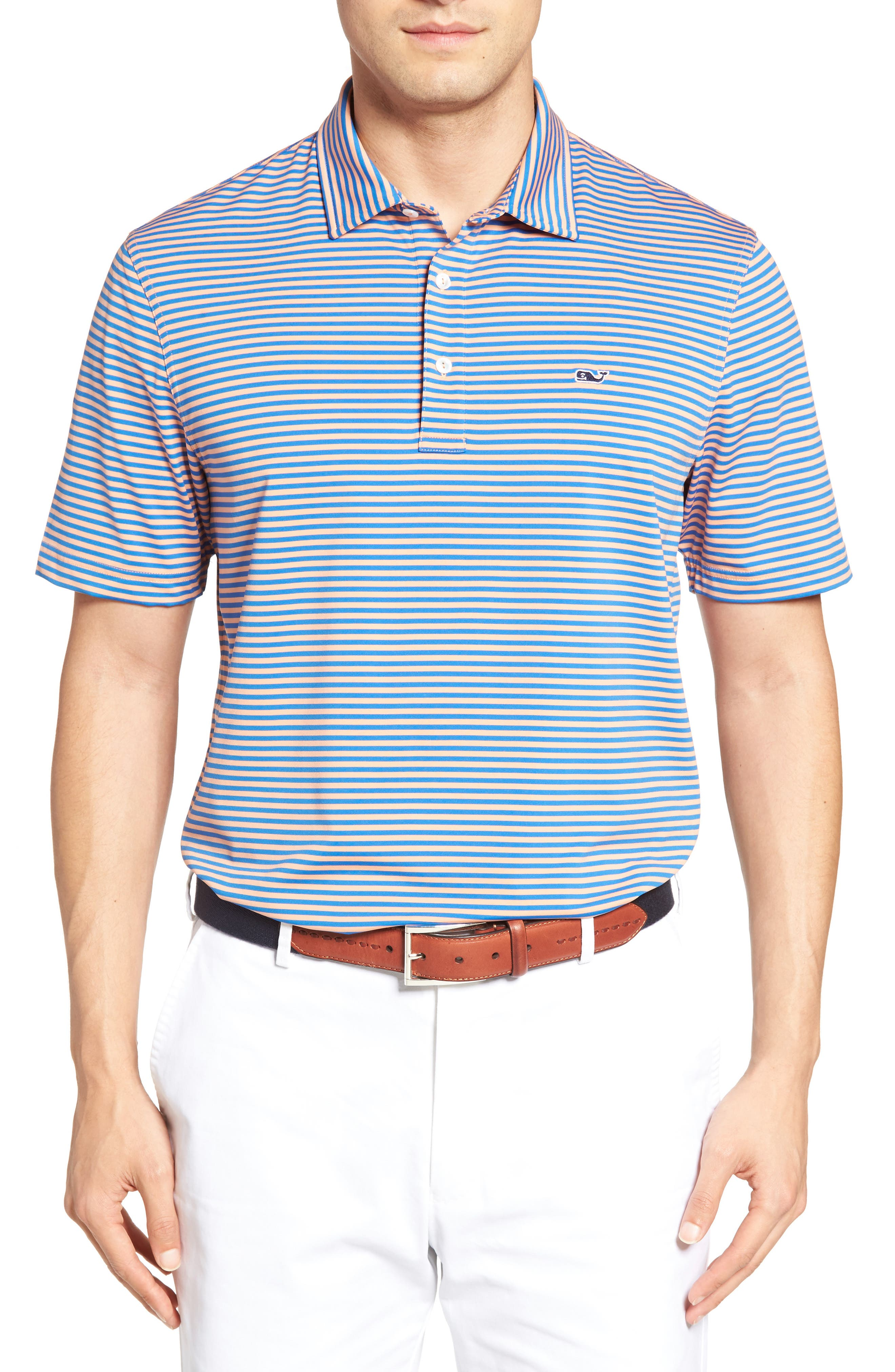 Kennedy Stripe Golf Polo,                             Main thumbnail 19, color,