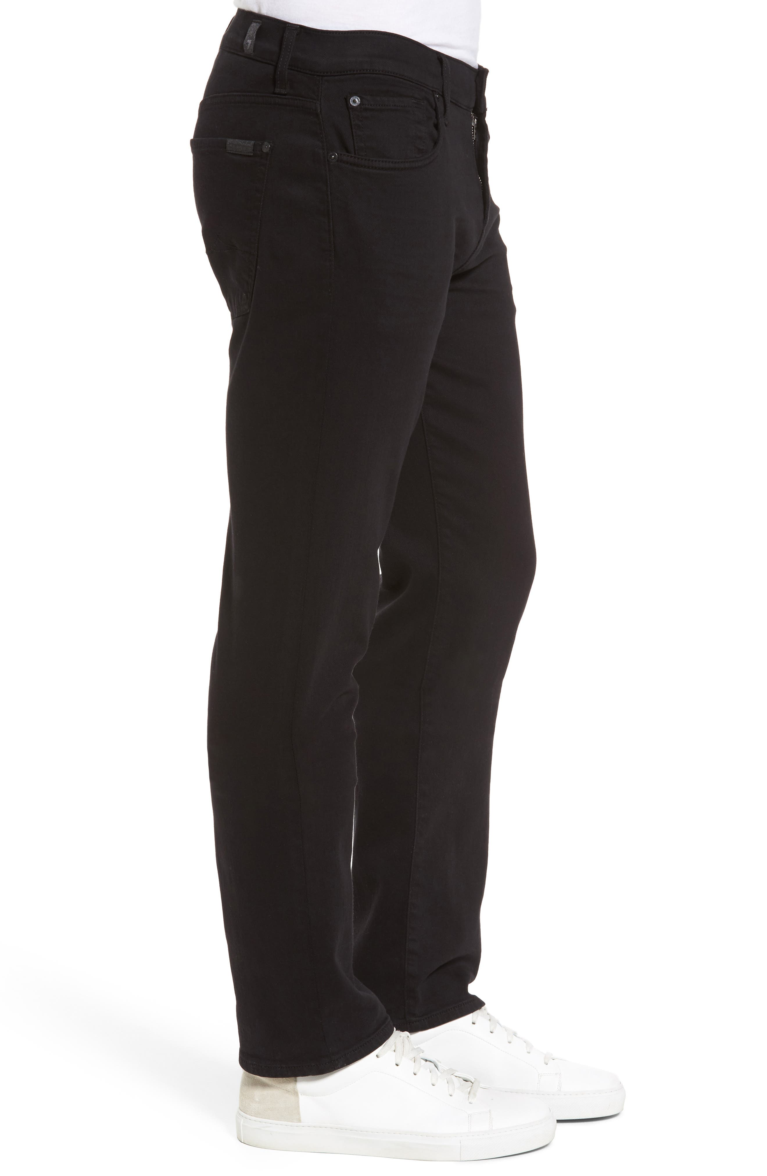 The Standard Straight Leg Jeans,                             Alternate thumbnail 3, color,                             ANNEX BLACK