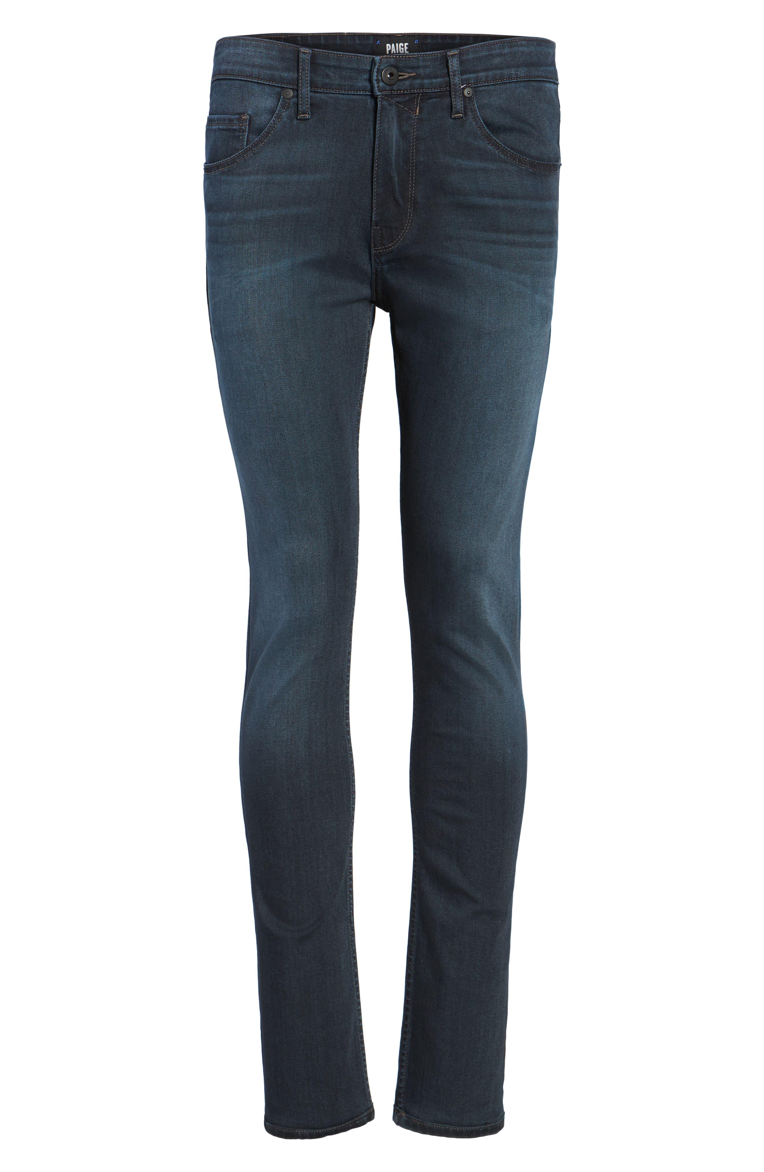 Croft Skinny Fit Jeans,                             Alternate thumbnail 6, color,                             400