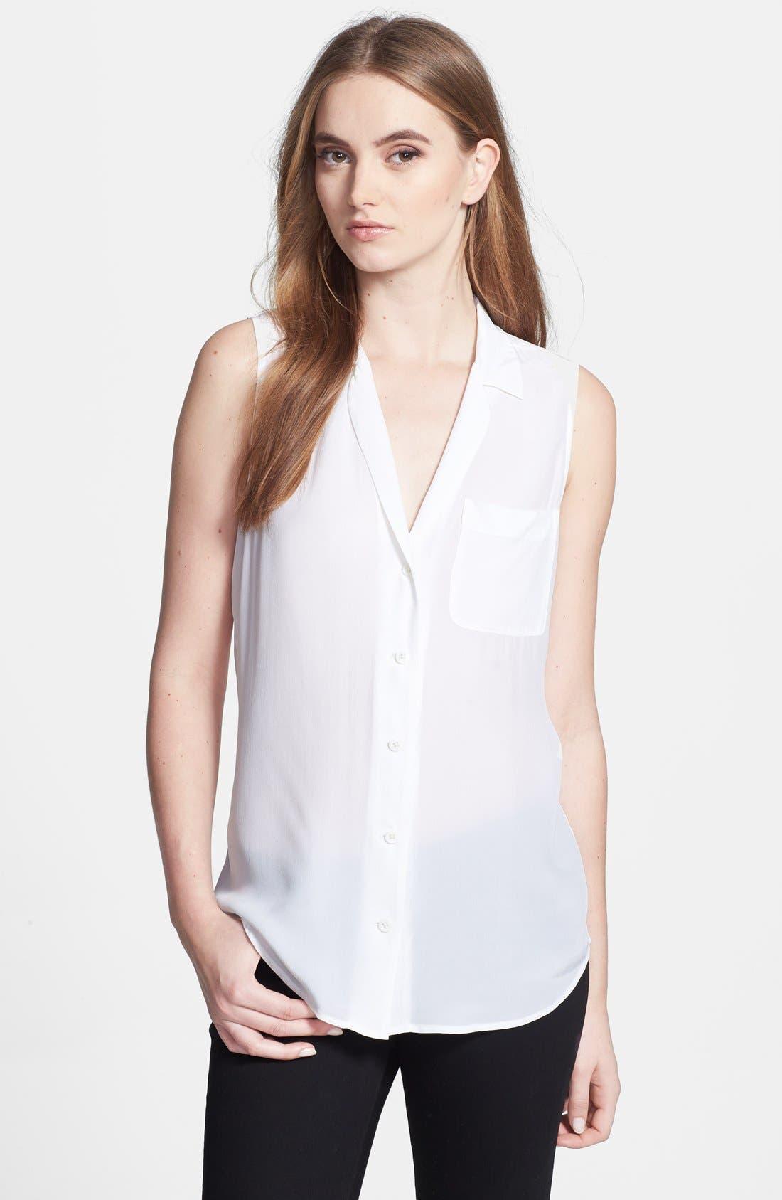 EQUIPMENT 'Keira' Silk Top, Main, color, 111