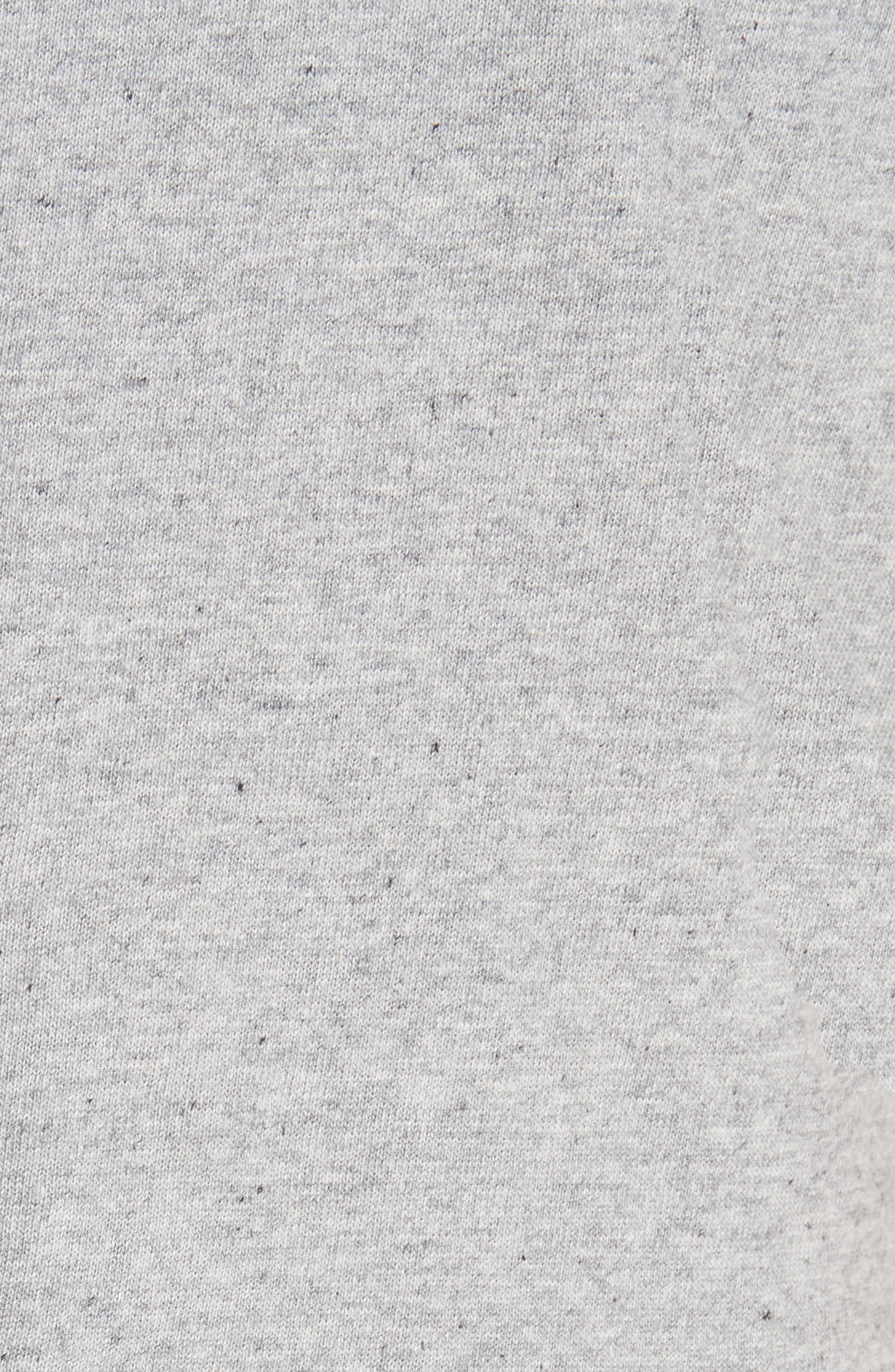 Crop Cotton Knit Jumpsuit,                             Alternate thumbnail 6, color,                             087