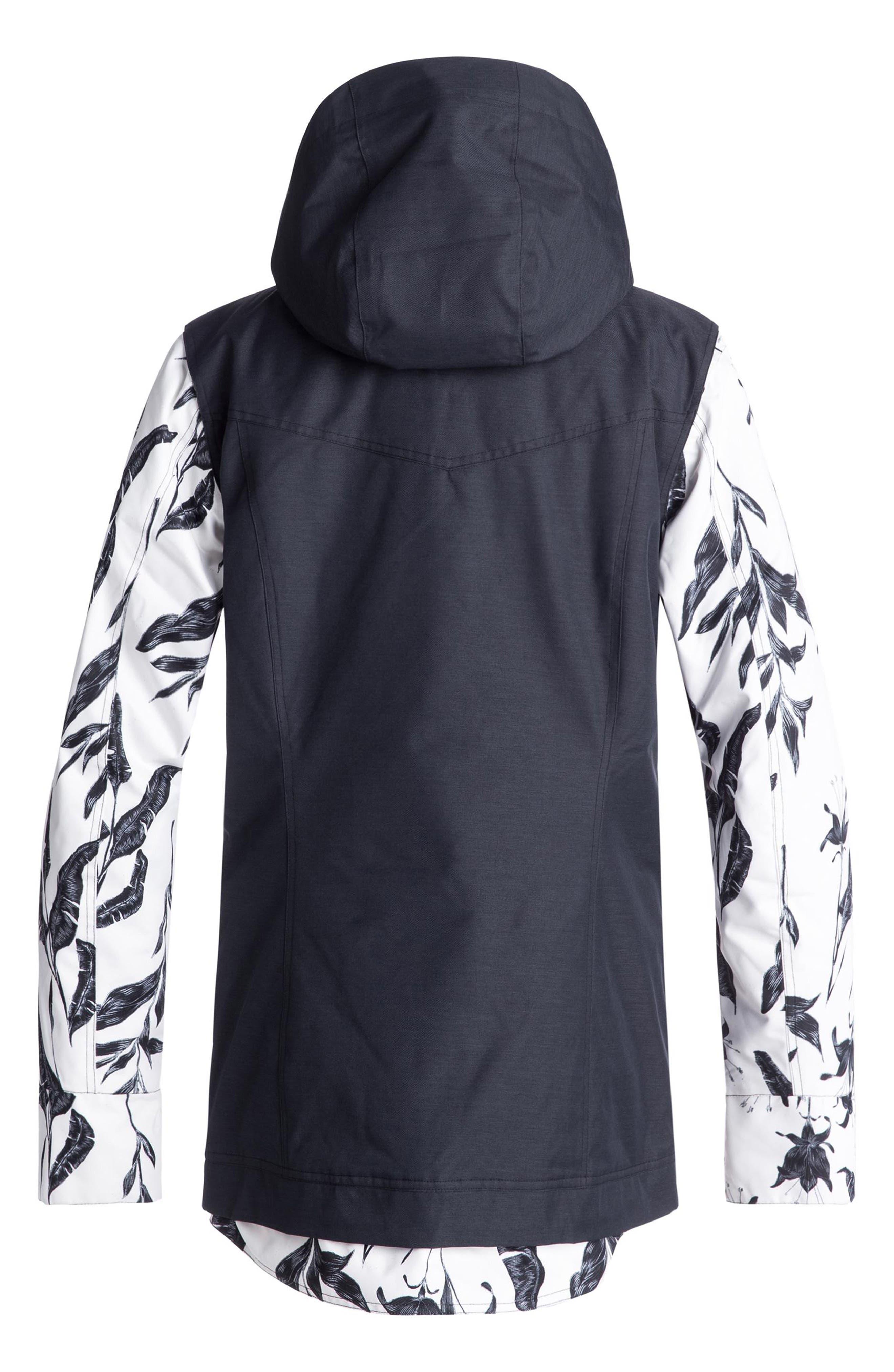 Ceder Snow Jacket,                             Alternate thumbnail 3, color,                             EGRET/ LOVE LETTER