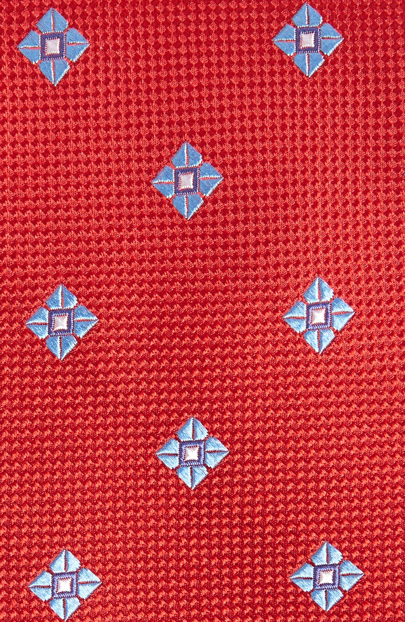 Oxford Medallion Silk Tie,                             Alternate thumbnail 9, color,