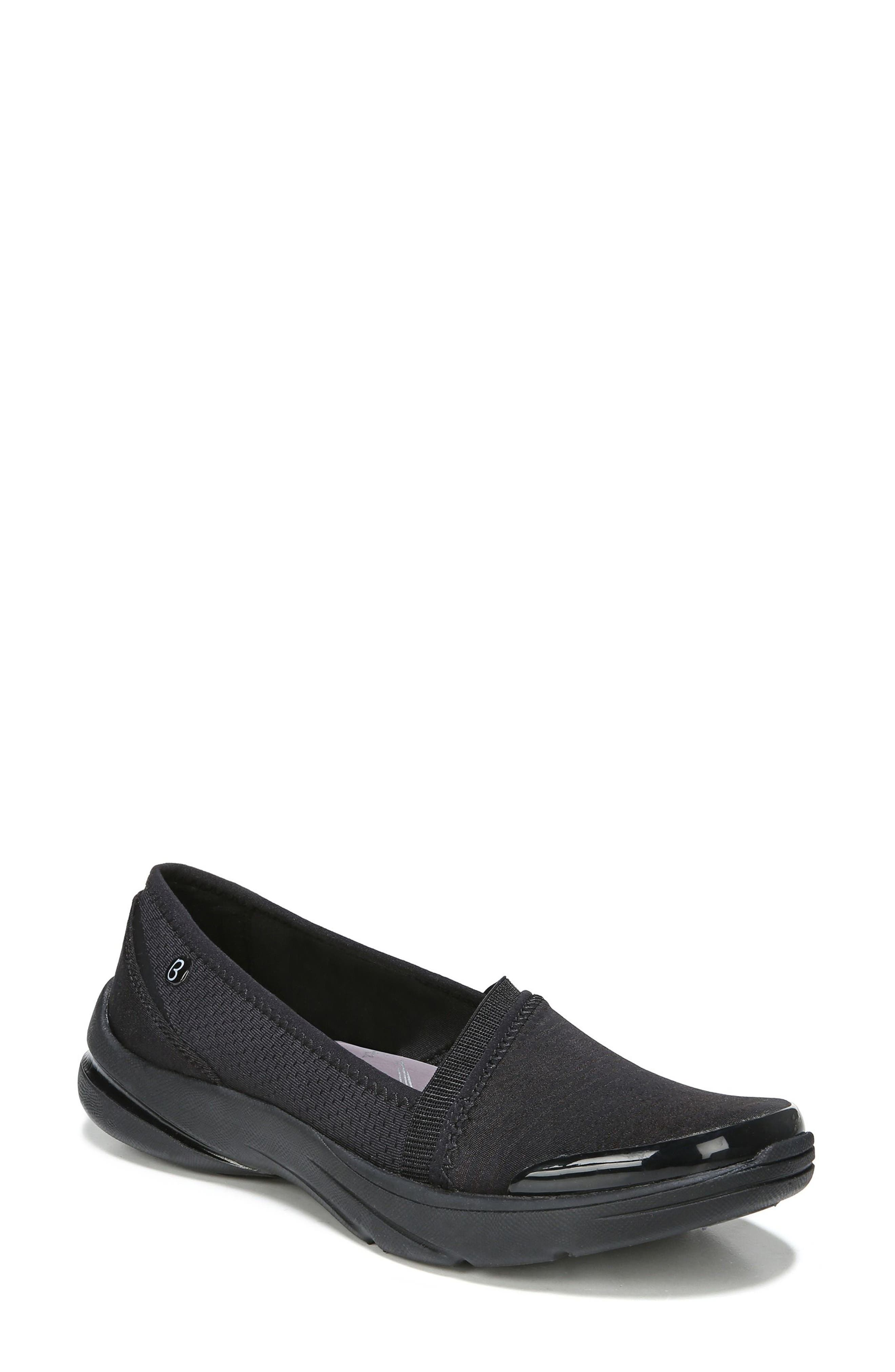 Lollipop Slip-On Sneaker,                             Main thumbnail 1, color,                             BLACK FABRIC