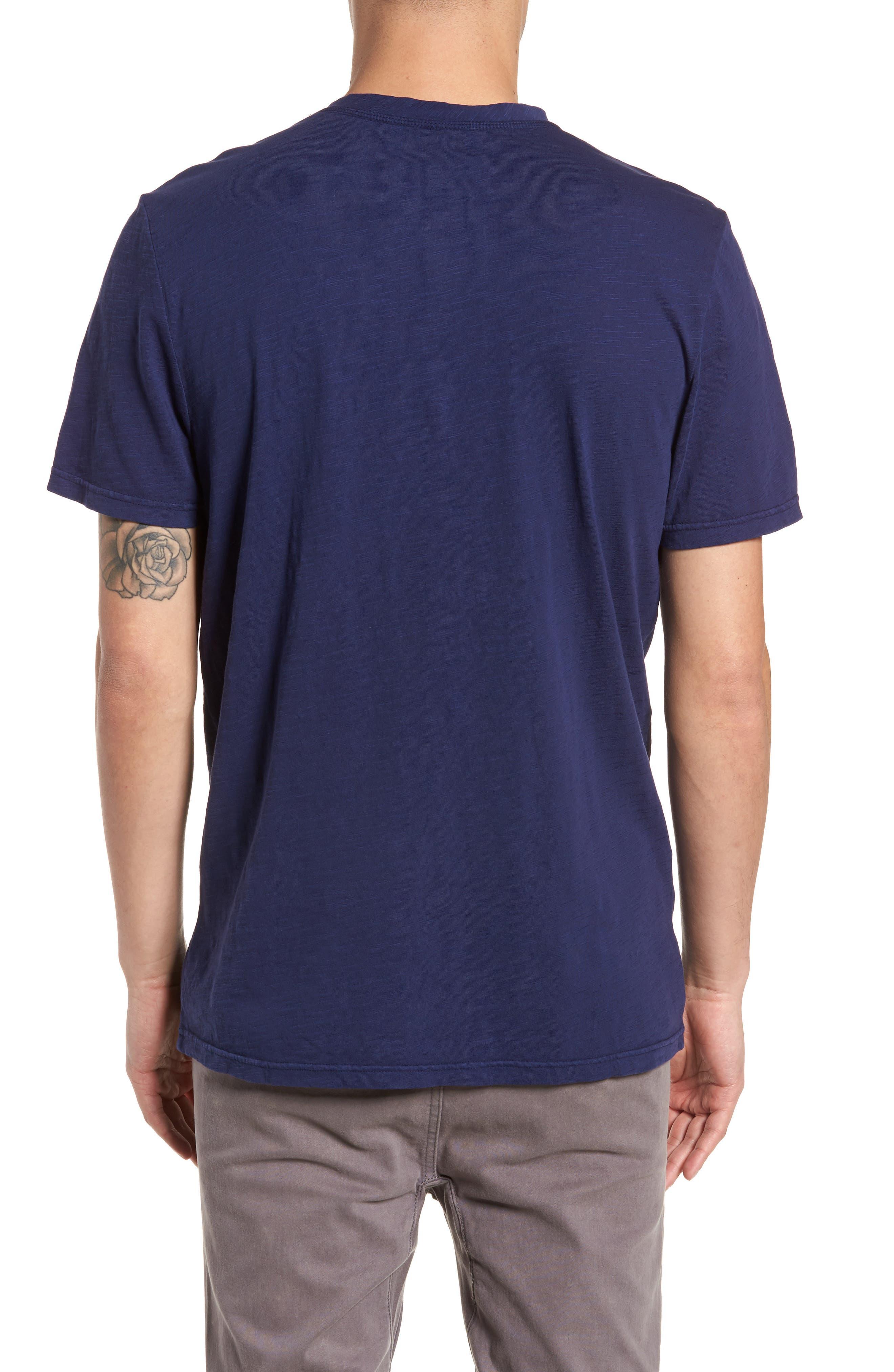 Garment Dye Slub Knit Henley,                             Alternate thumbnail 9, color,