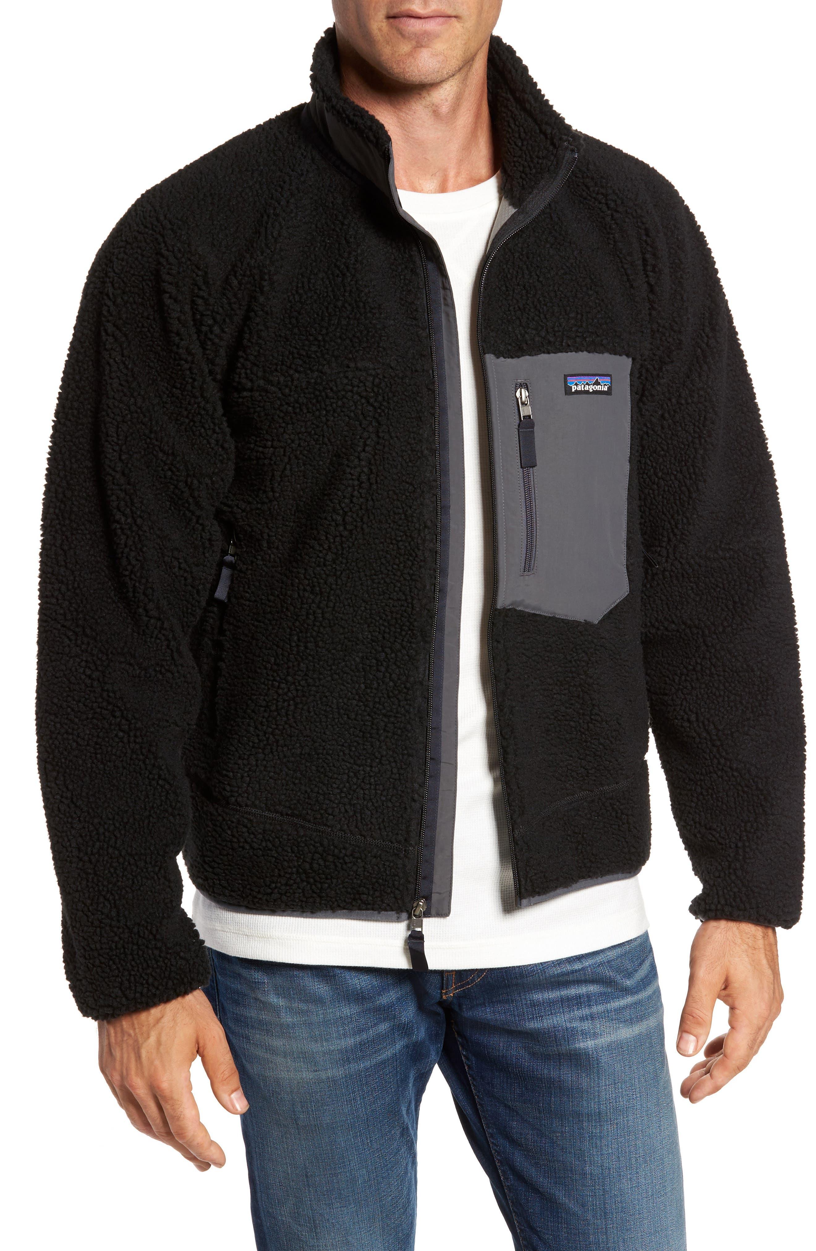 Retro-X Fleece Jacket,                             Main thumbnail 1, color,                             002