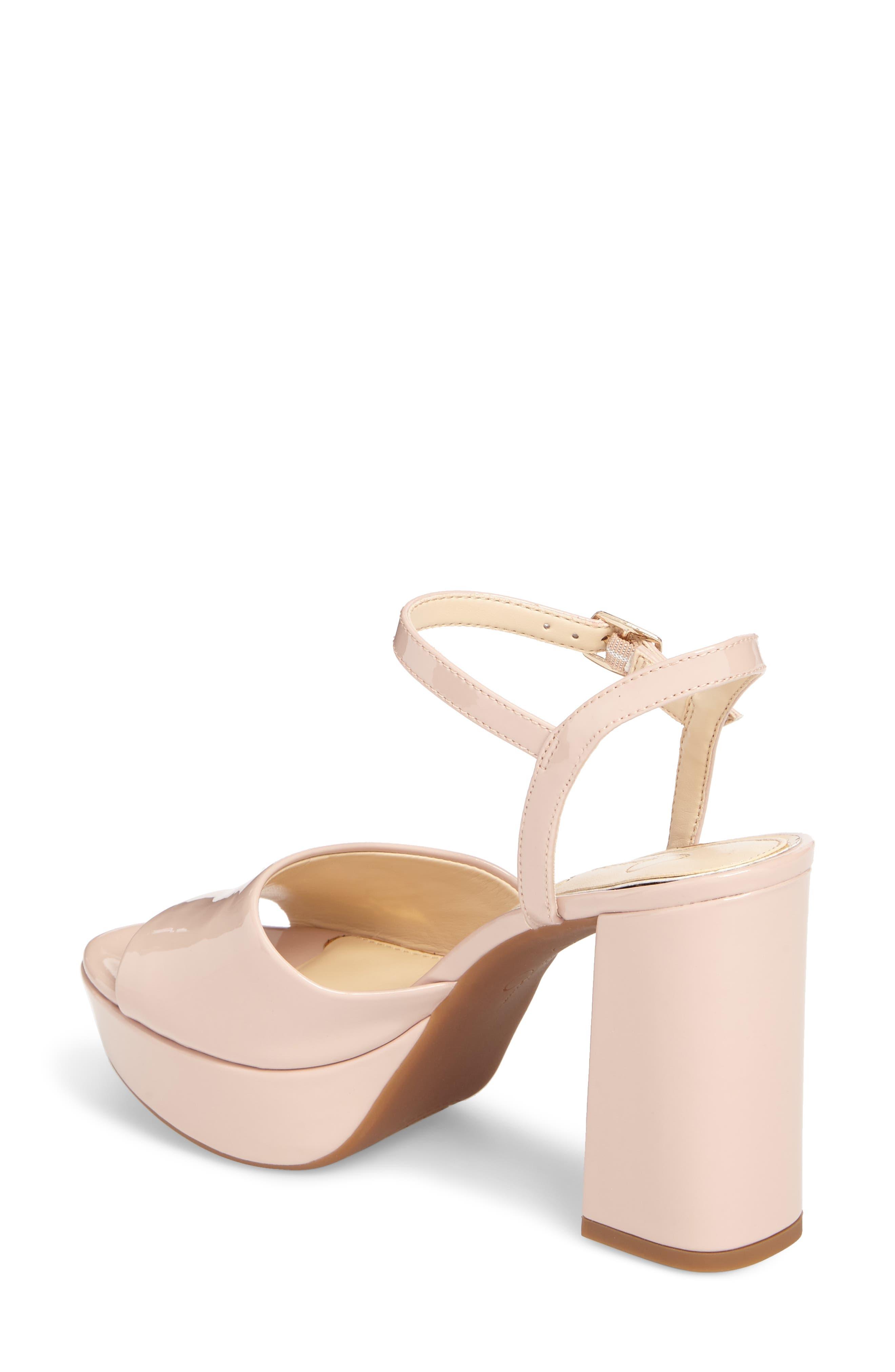 Kerrick Platform Sandal,                             Alternate thumbnail 4, color,