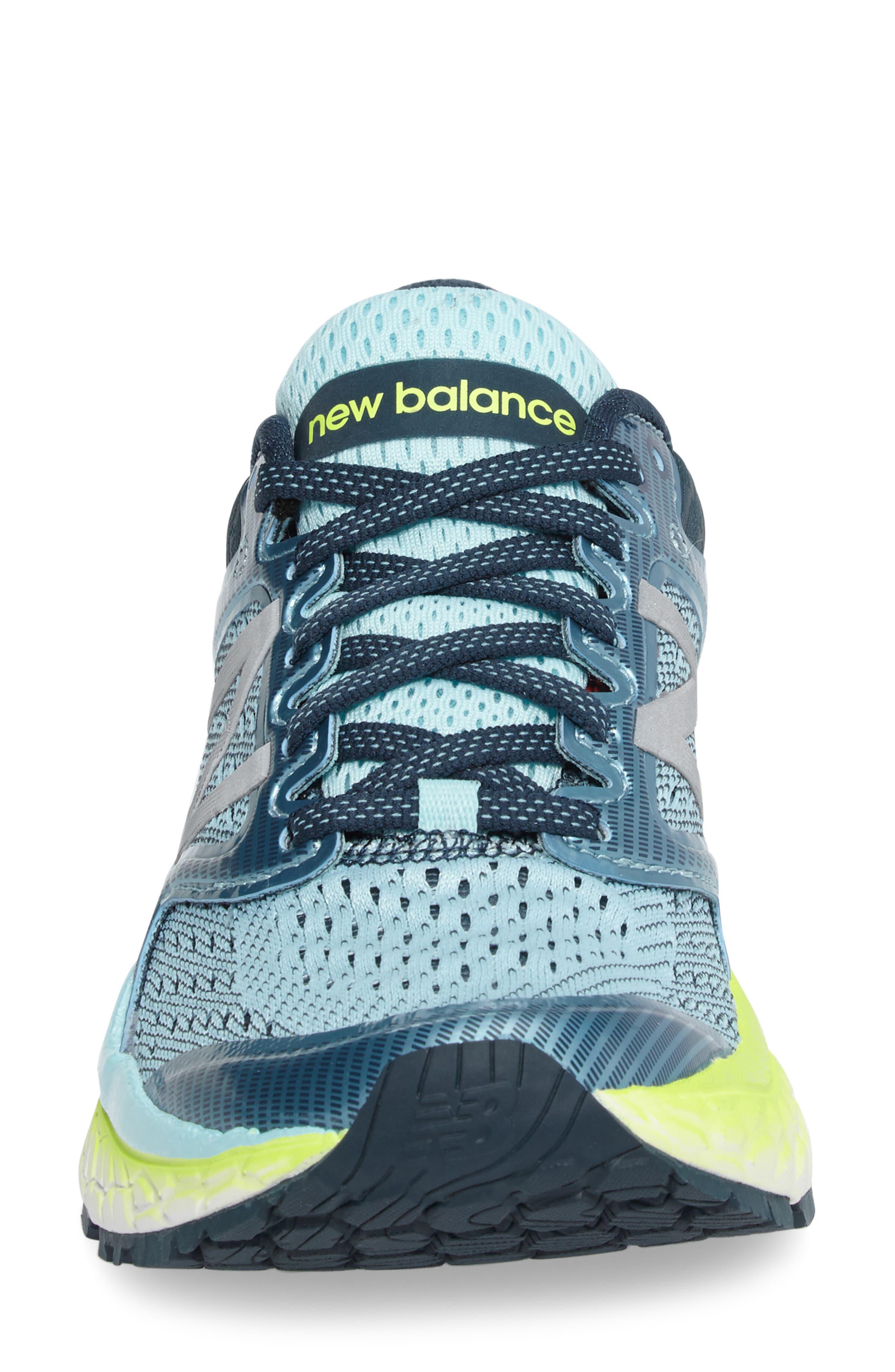 '1080 - Fresh Foam' Running Shoe,                             Alternate thumbnail 4, color,                             OZONE BLUE GLOW