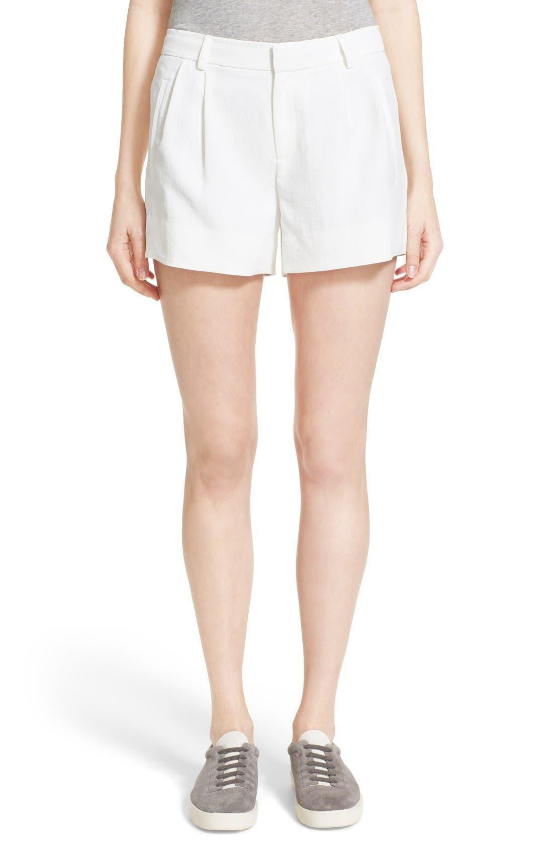 Trouser Shorts,                             Main thumbnail 1, color,                             101