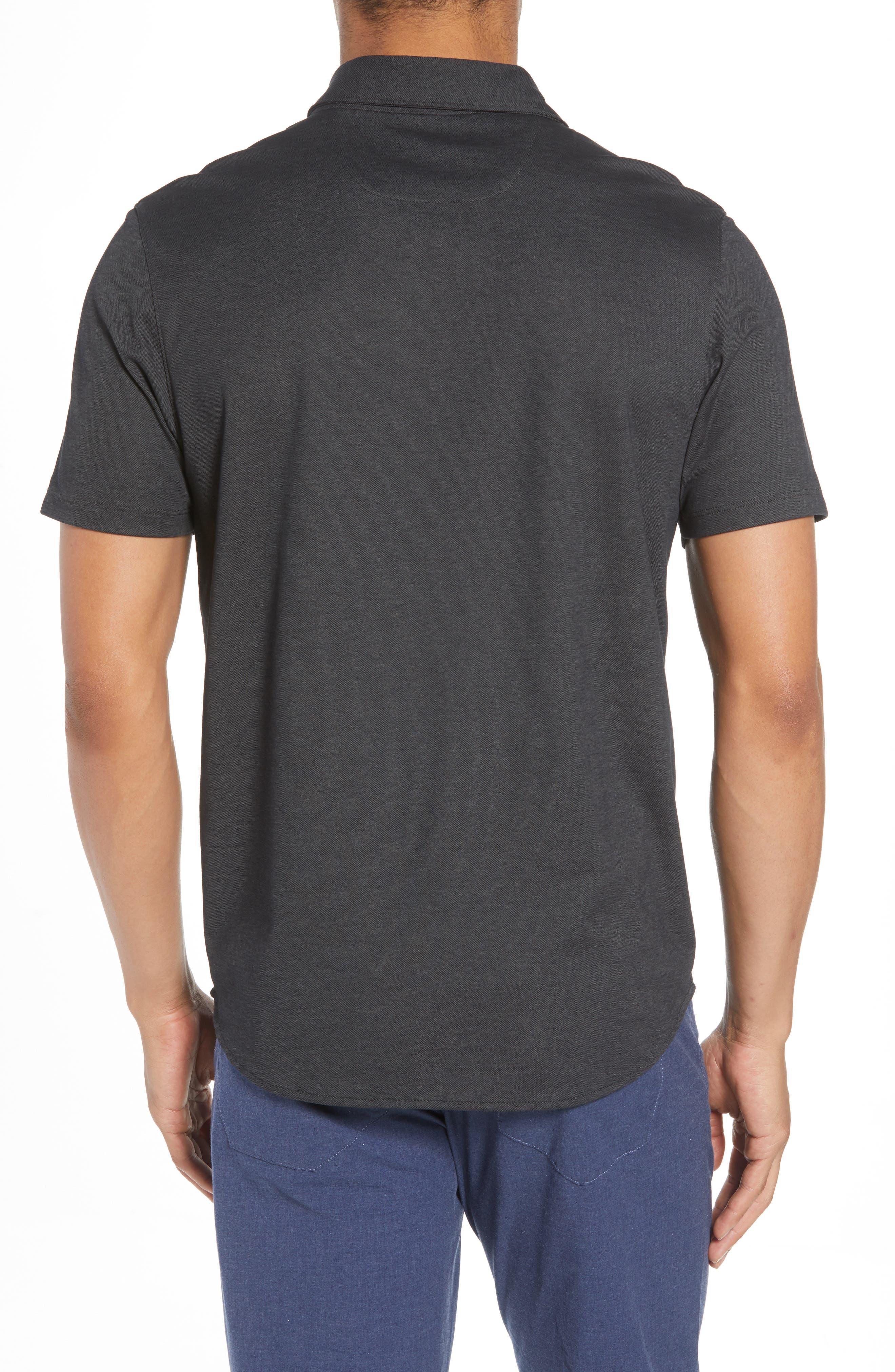 Caruth Piqué Sport Shirt,                             Alternate thumbnail 2, color,                             021