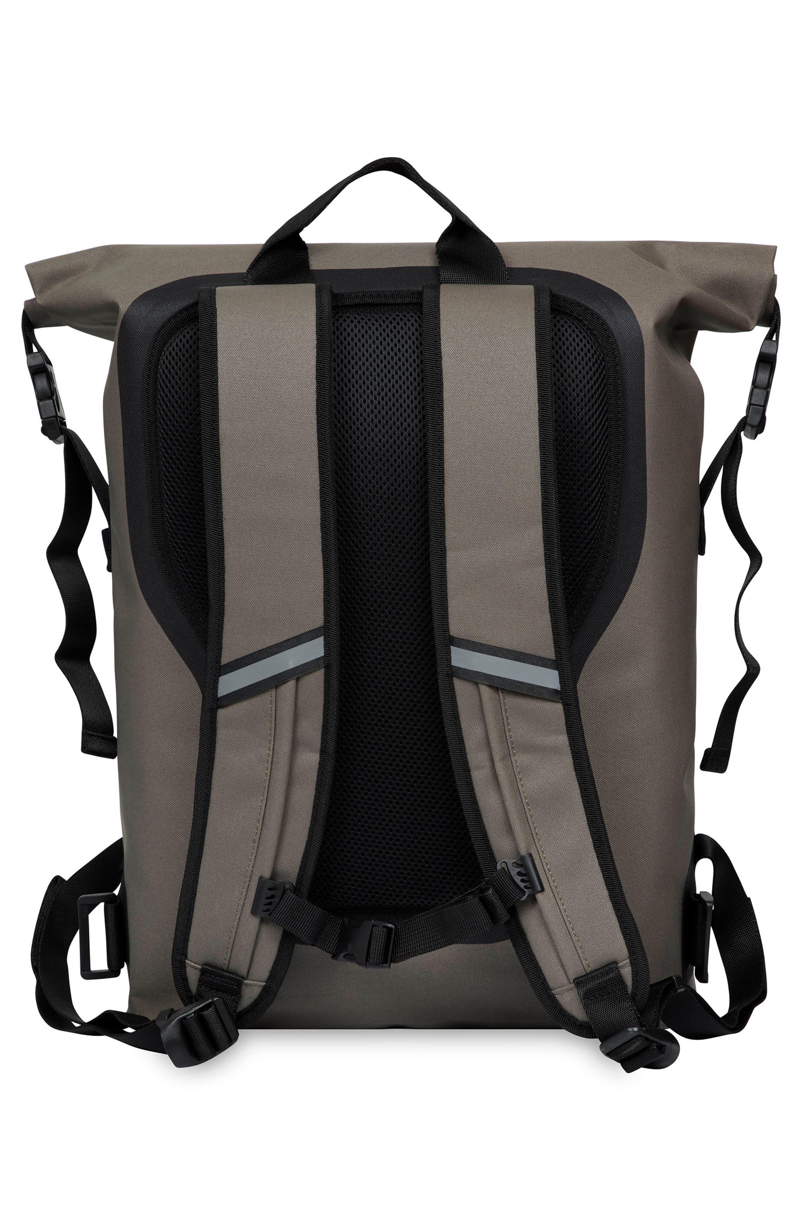 Thames Cromwell Roll Top Backpack,                             Alternate thumbnail 2, color,                             KHAKI