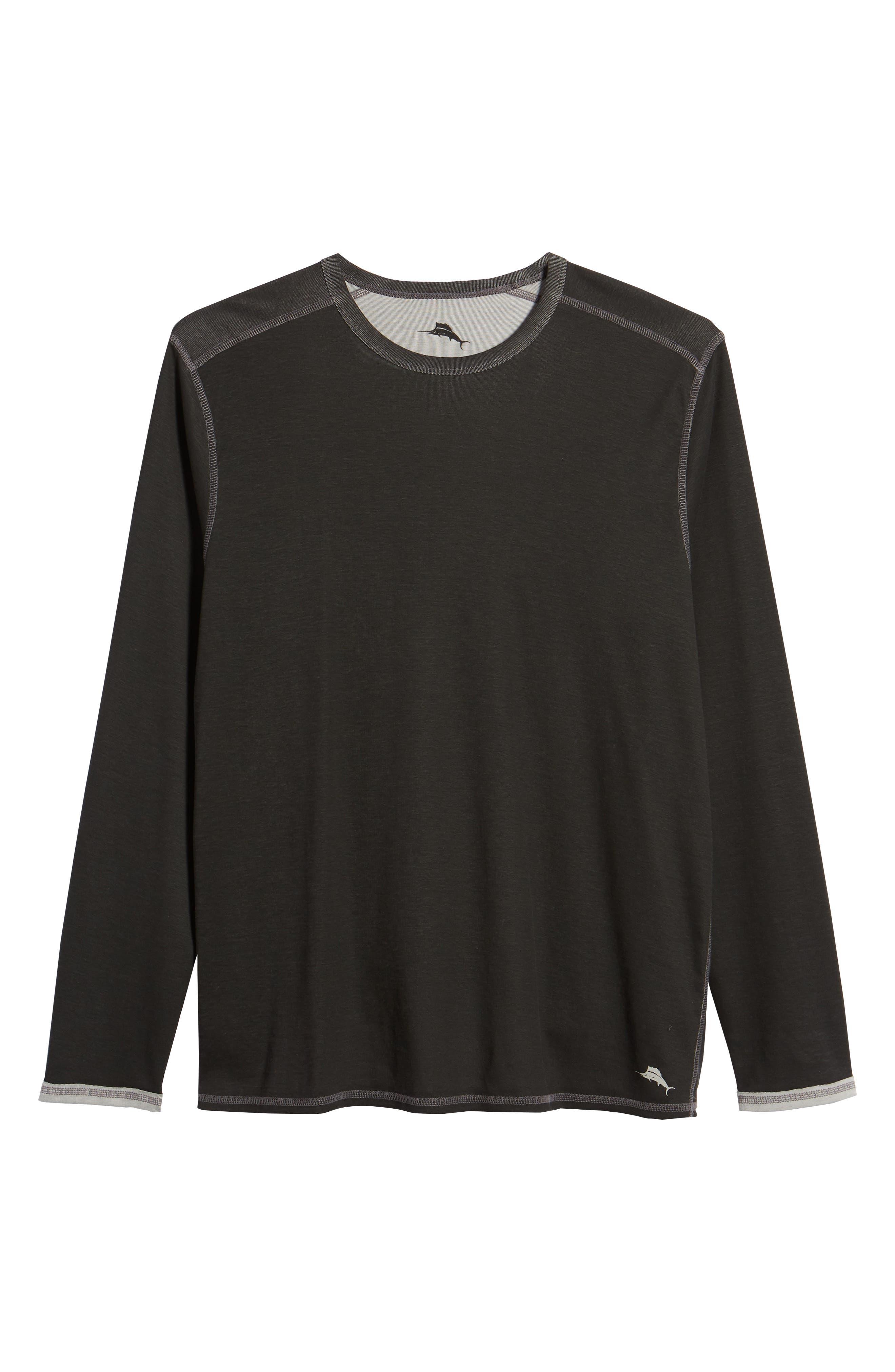 Dual in the Sun Reversible T-Shirt,                             Alternate thumbnail 7, color,                             001